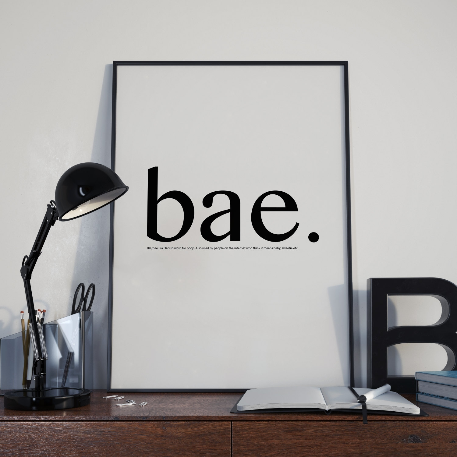 Bae Definition – Dictionary Definition Wall Art – Tumblr Wall Art With Regard To Most Recent Tumblr Wall Art (View 5 of 20)