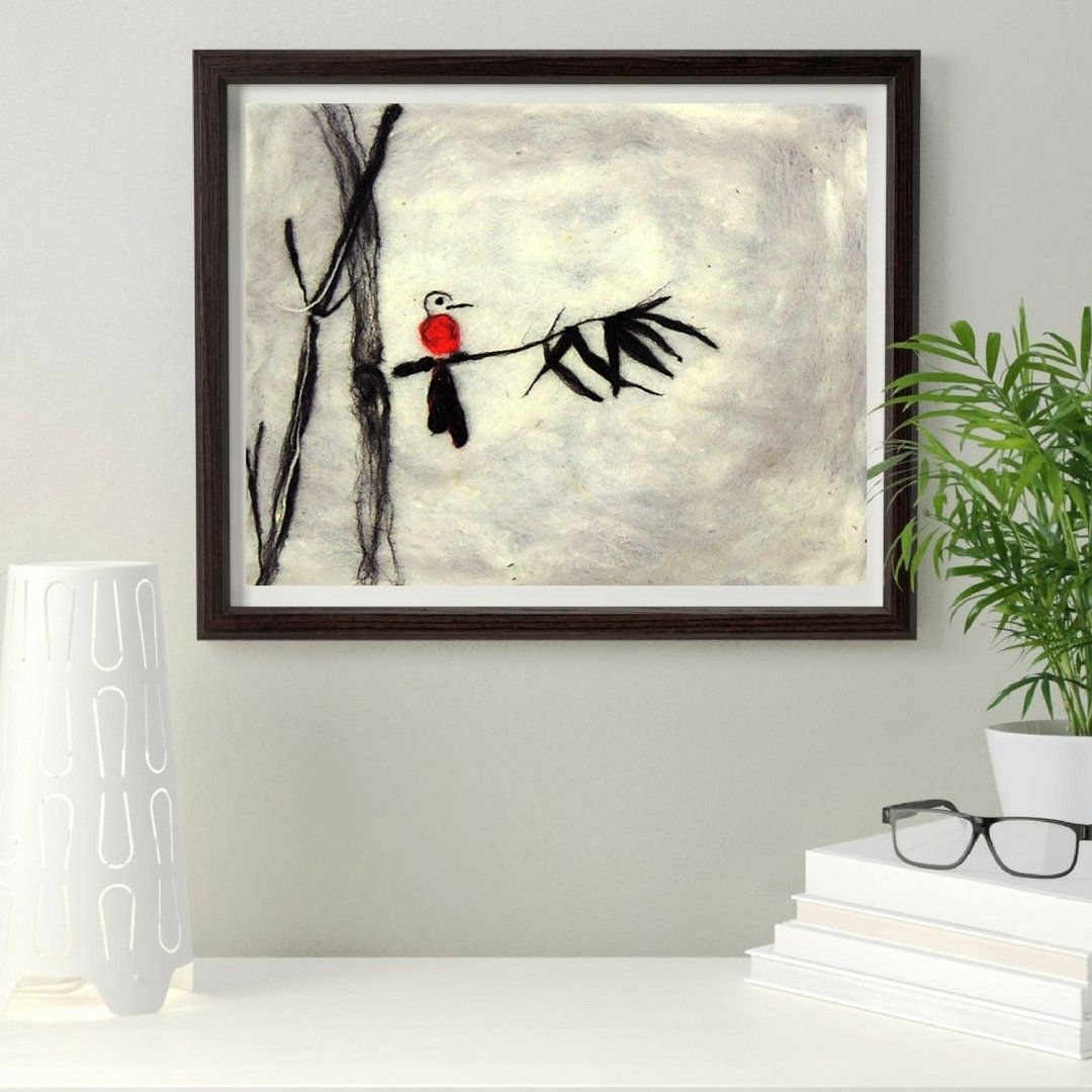 Bamboo Asian Painting Asian Art Oriental Apartment Decor Japanese For Latest Bamboo Wall Art (View 14 of 20)