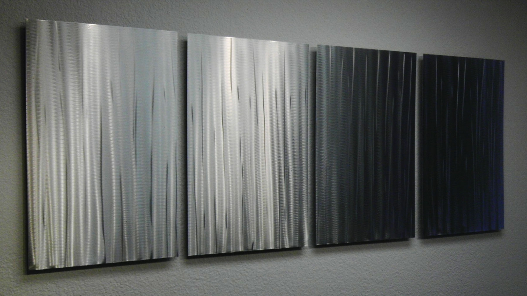 Bamboo Forest – Abstract Metal Wall Art Contemporary Modern Decor In Newest Bamboo Wall Art (View 8 of 20)