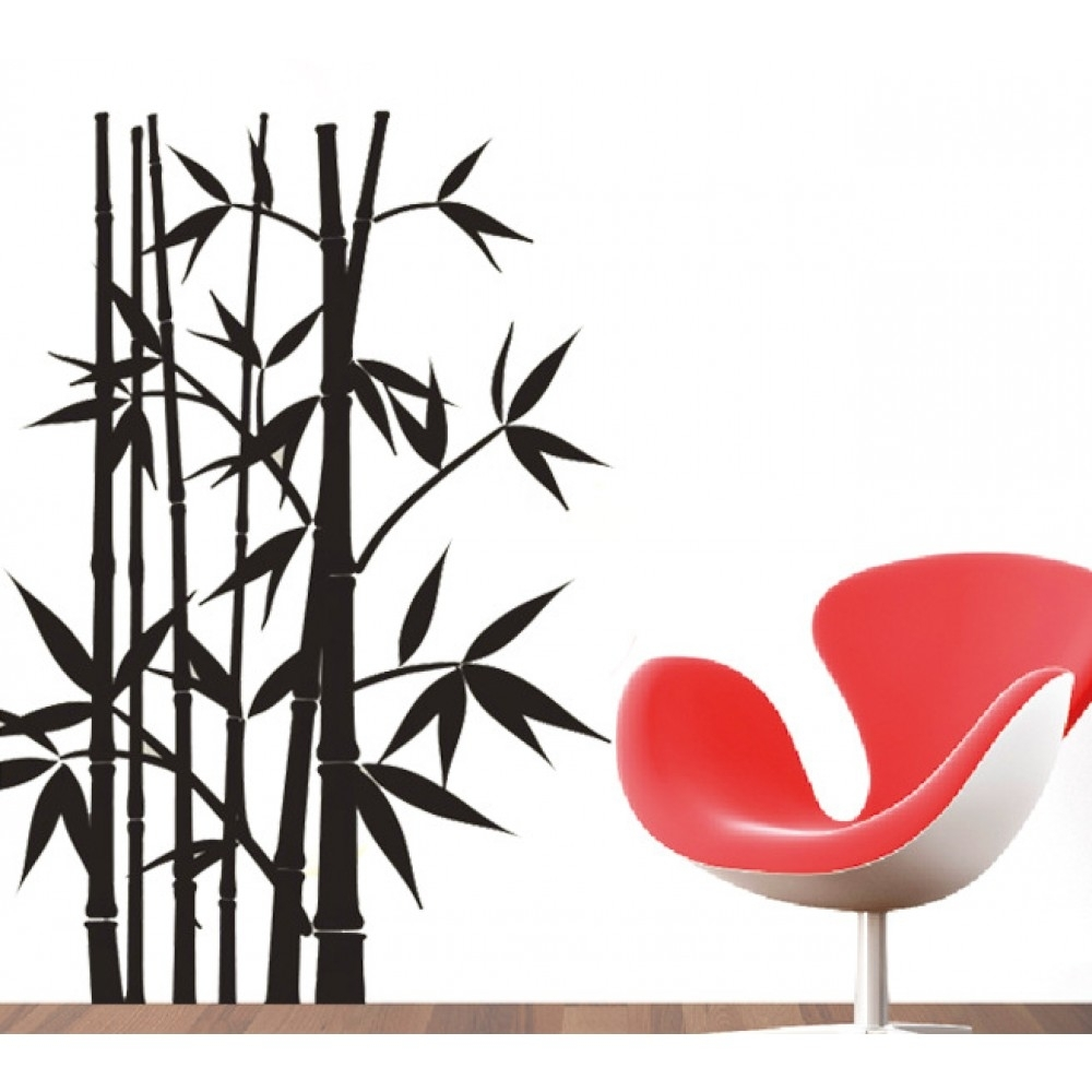 Bamboo Wall Sticker | Wallstickerscool (View 10 of 20)