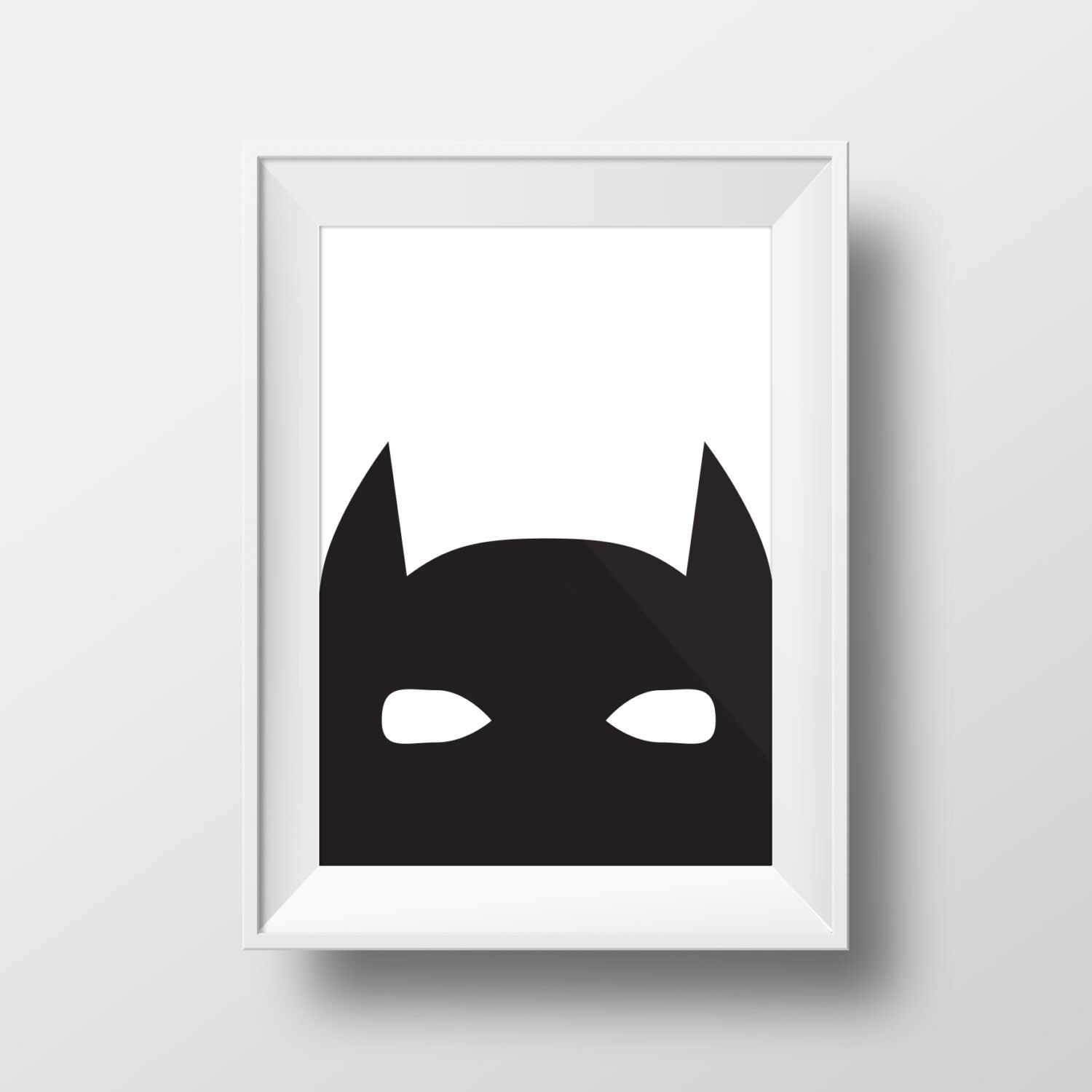 Batman Art, Printable Art, Boys Room Decor, Modern Art, Printable Within Most Up To Date Batman Wall Art (View 6 of 20)