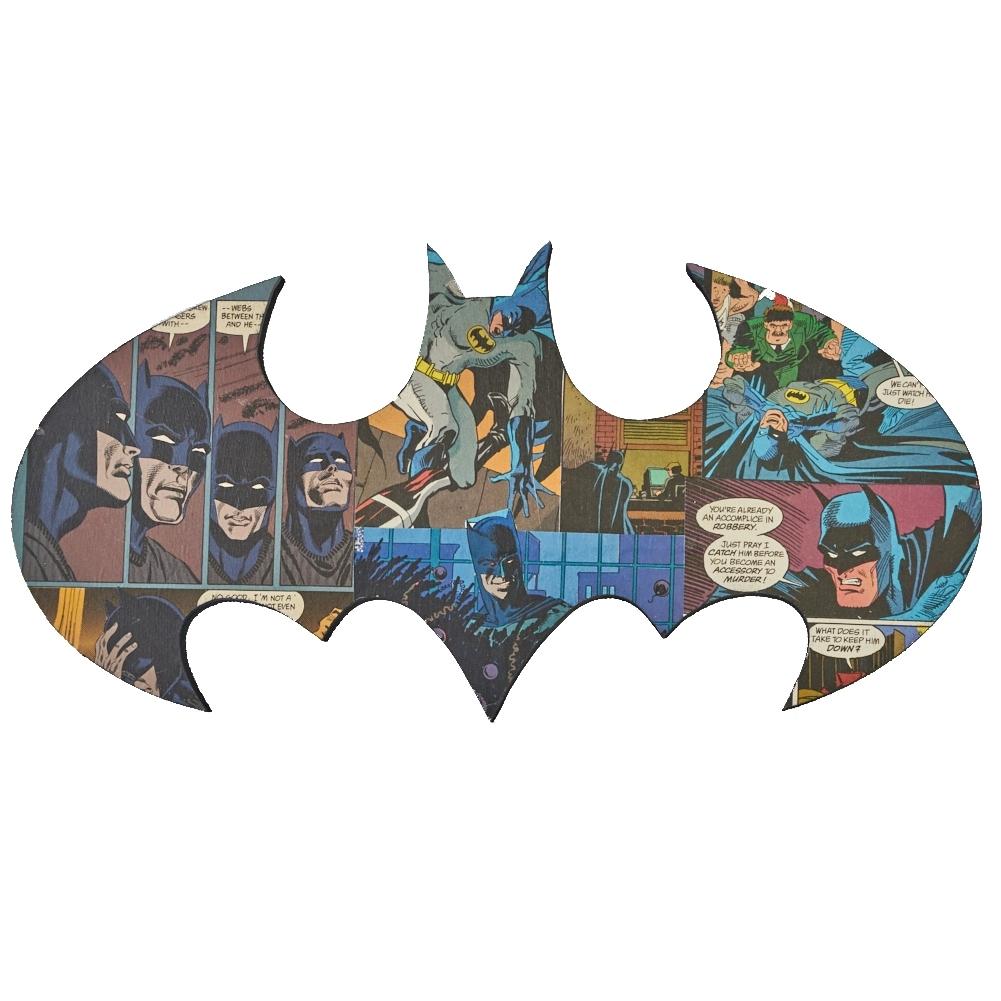 Batman Logo Wall Art | Uniquely Geek In Newest Batman Wall Art (View 14 of 20)