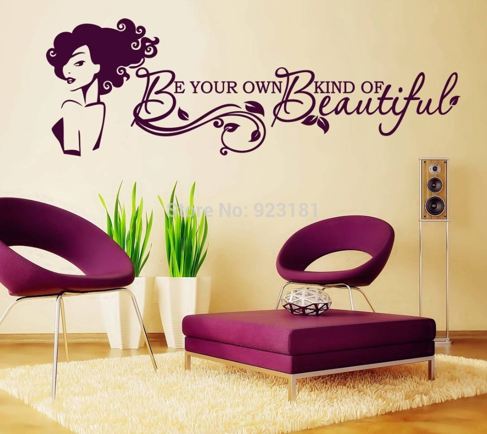 Featured Photo of Be Your Own Kind Of Beautiful Wall Art