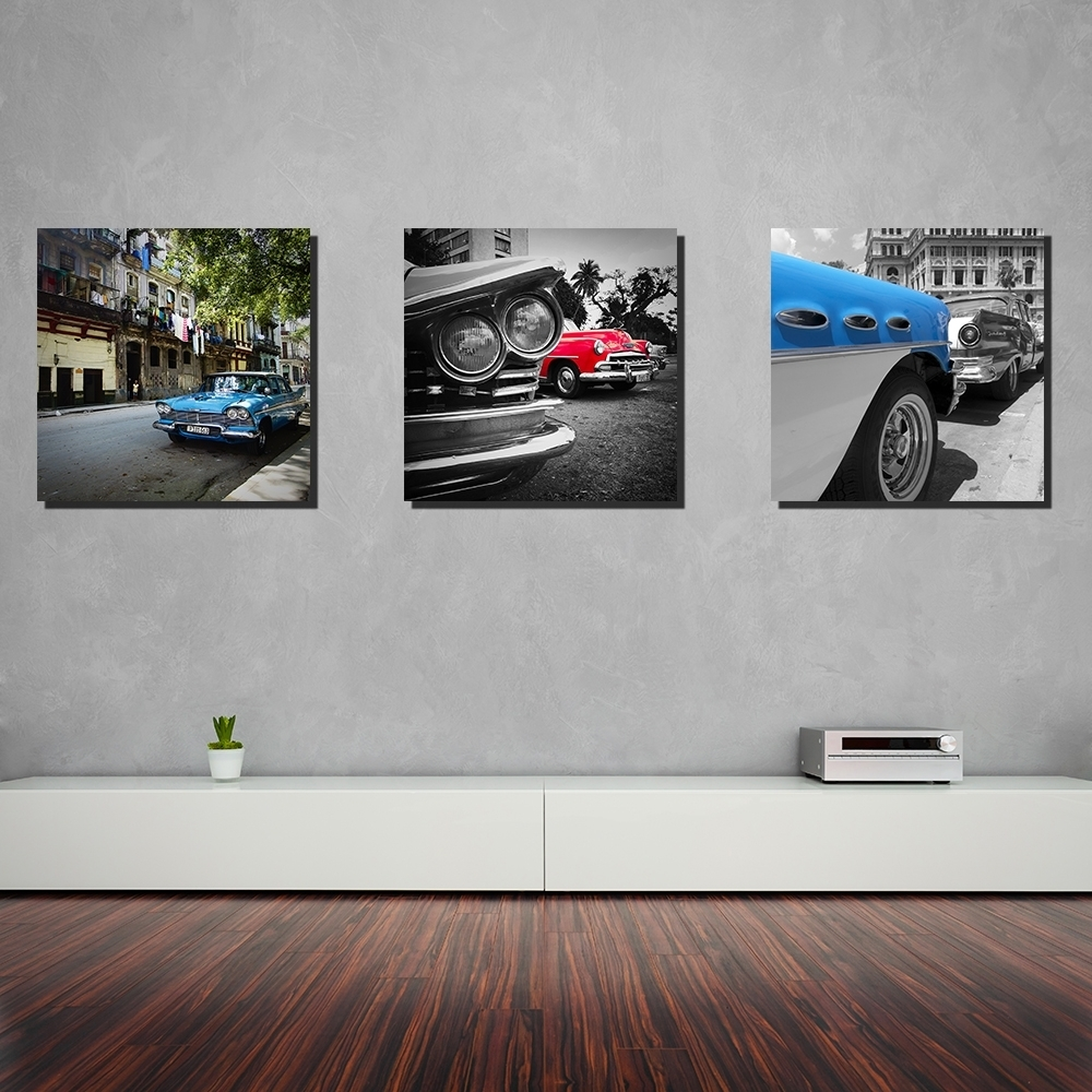 Beautiful Canvas Wall Art Cars | Wall Decorations In 2017 Car Canvas Wall Art (View 10 of 20)