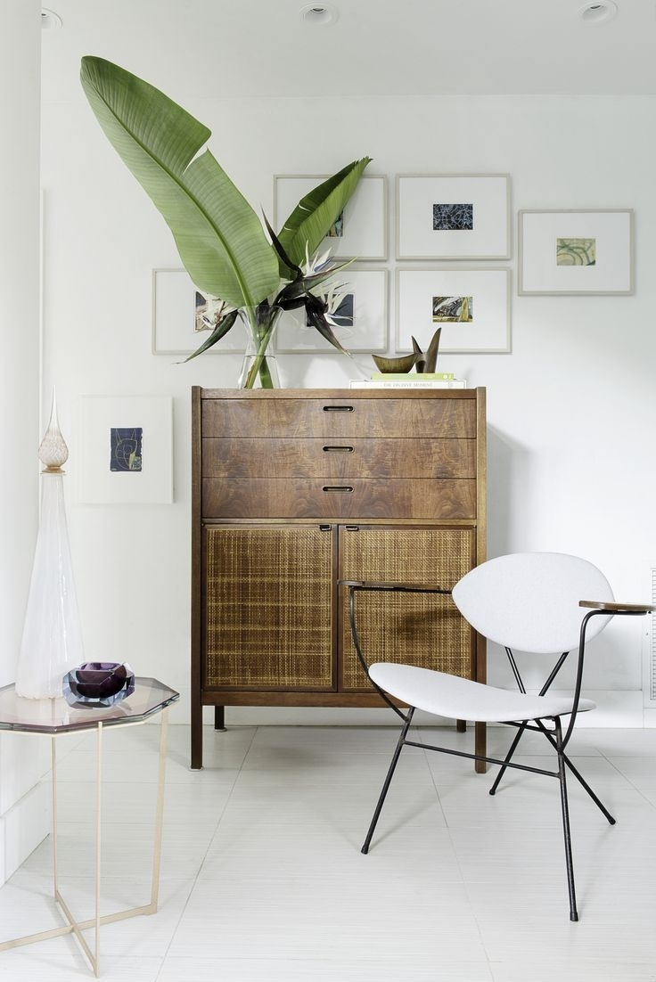 Beautiful Nook With Vintage Style Dresser, Unusual Gallery Wall Art Inside Latest Unusual Wall Art (View 3 of 20)