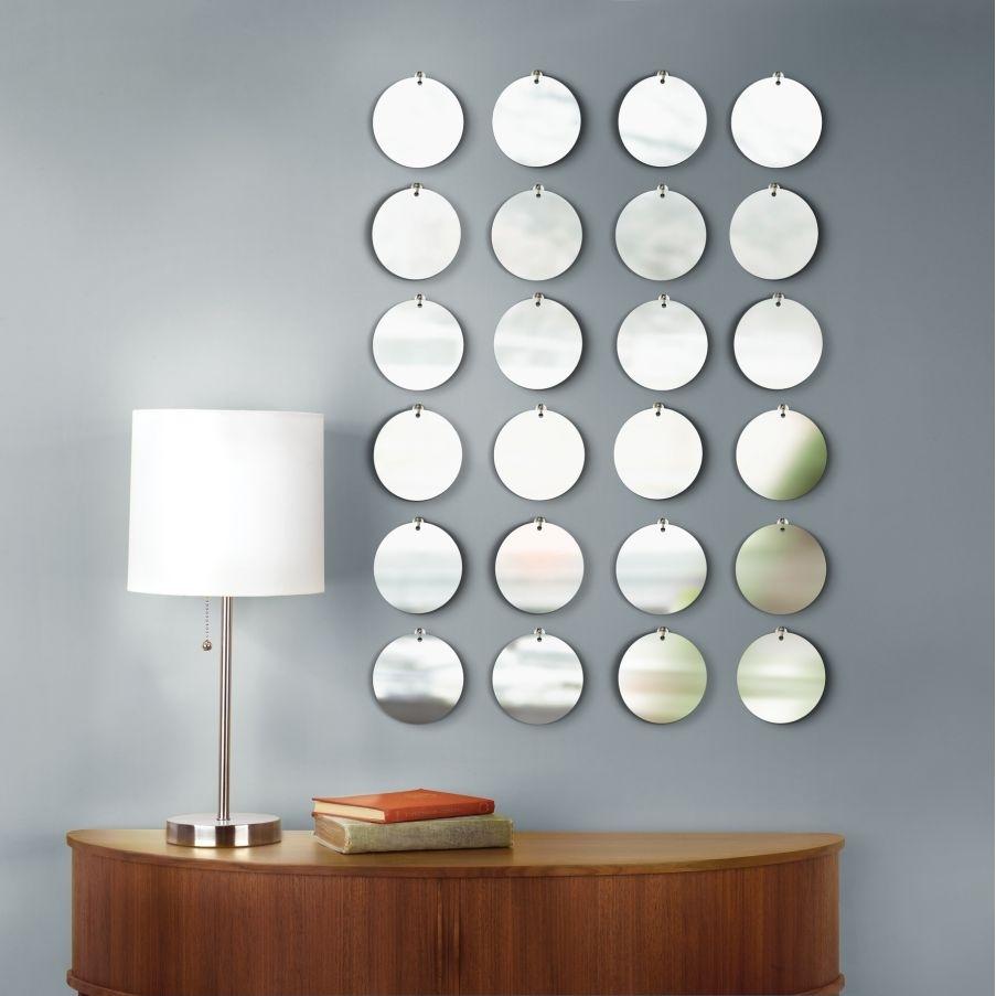 Beauty Round Mirror Wall Decor | Jeffsbakery Basement & Mattress In Most Popular Mirror Wall Art (View 3 of 15)