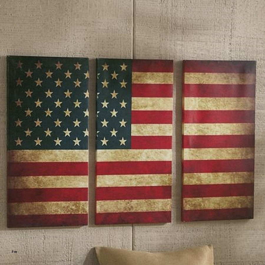 Best American Flag Wall Art P41Ministry Scheme Of Vintage American Inside 2017 American Flag Wall Art (View 5 of 15)