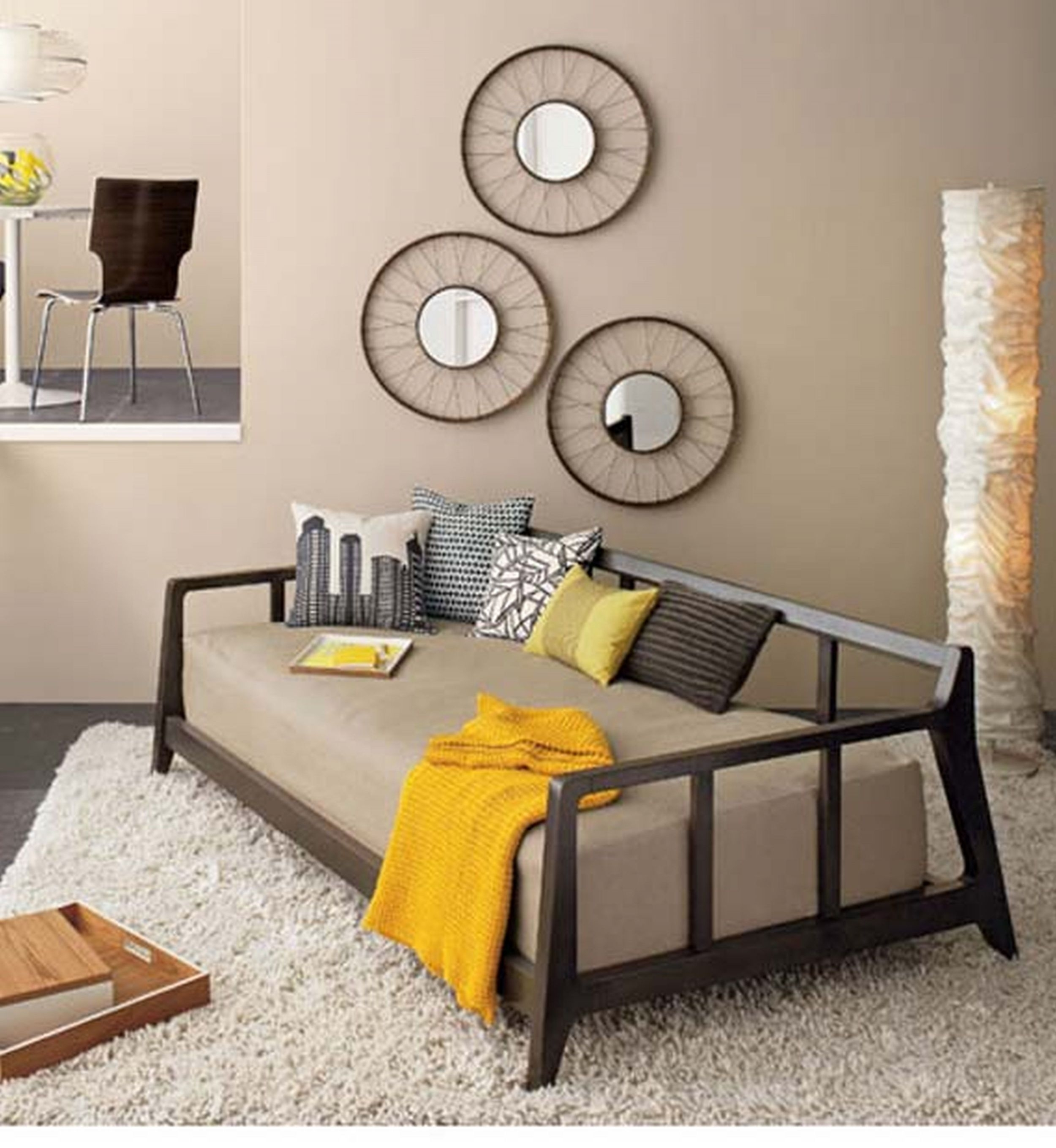 Best Diy Wall Art For Living Room Inexpensive Cheap Decorating Ideas Pertaining To Newest Wall Art Ideas For Living Room (View 4 of 20)