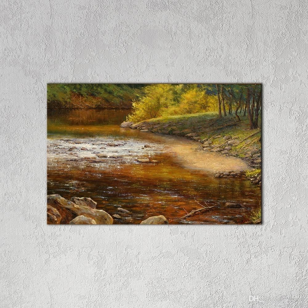 Best Modern Wall Art Picture Country Landscape Canvas Painting Intended For Most Current Country Wall Art (View 3 of 20)