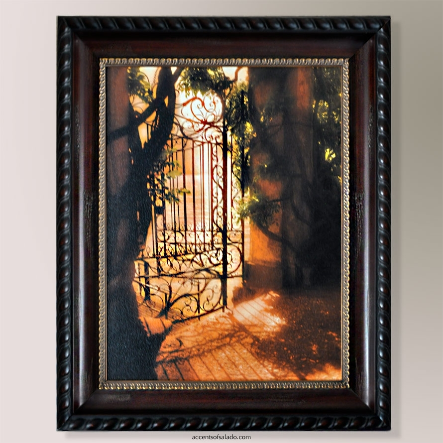 Beyond The Gate Tuscan Wall Art Inside Best And Newest Tuscan Wall Art (Gallery 18 of 20)
