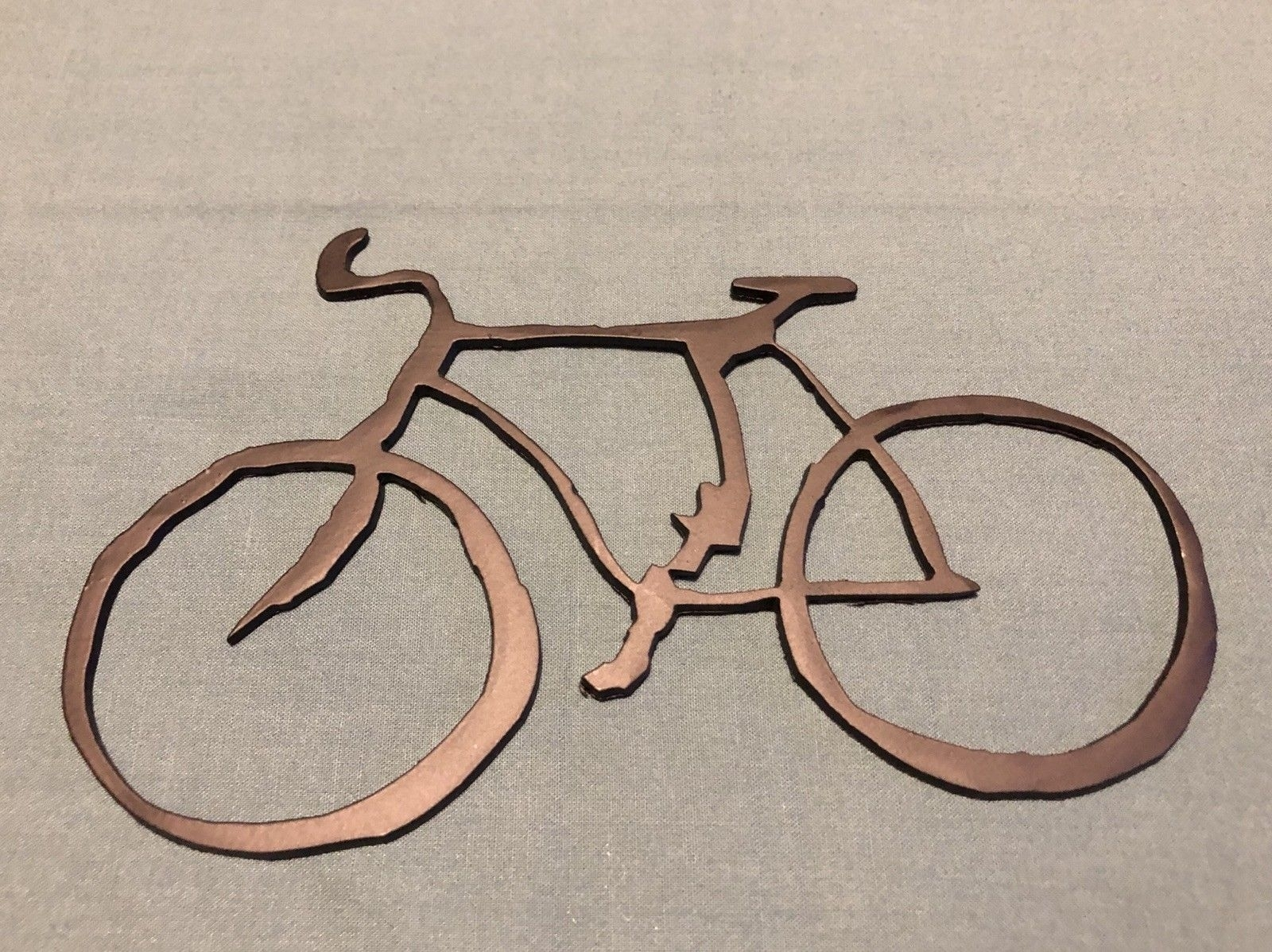 Bicycle Metal Wall Art Home Decor – $ (View 13 of 20)