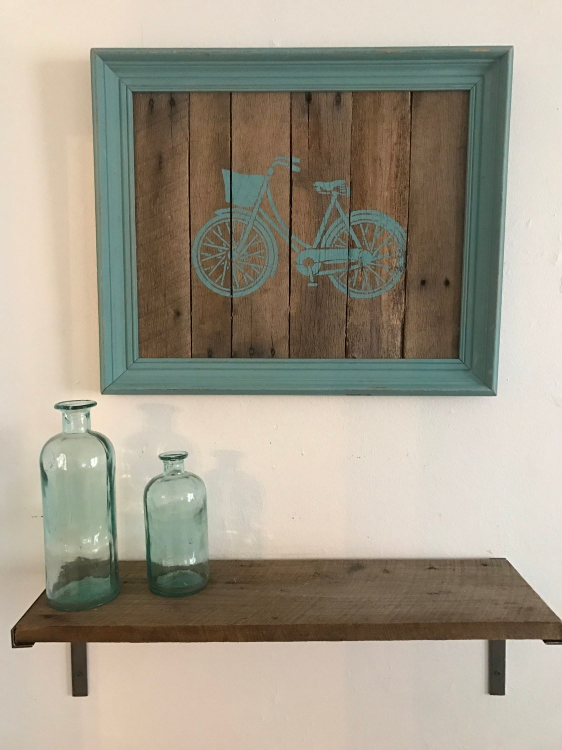 Bicycle Pallet Wall Art Regarding Recent Pallet Wall Art (View 1 of 15)