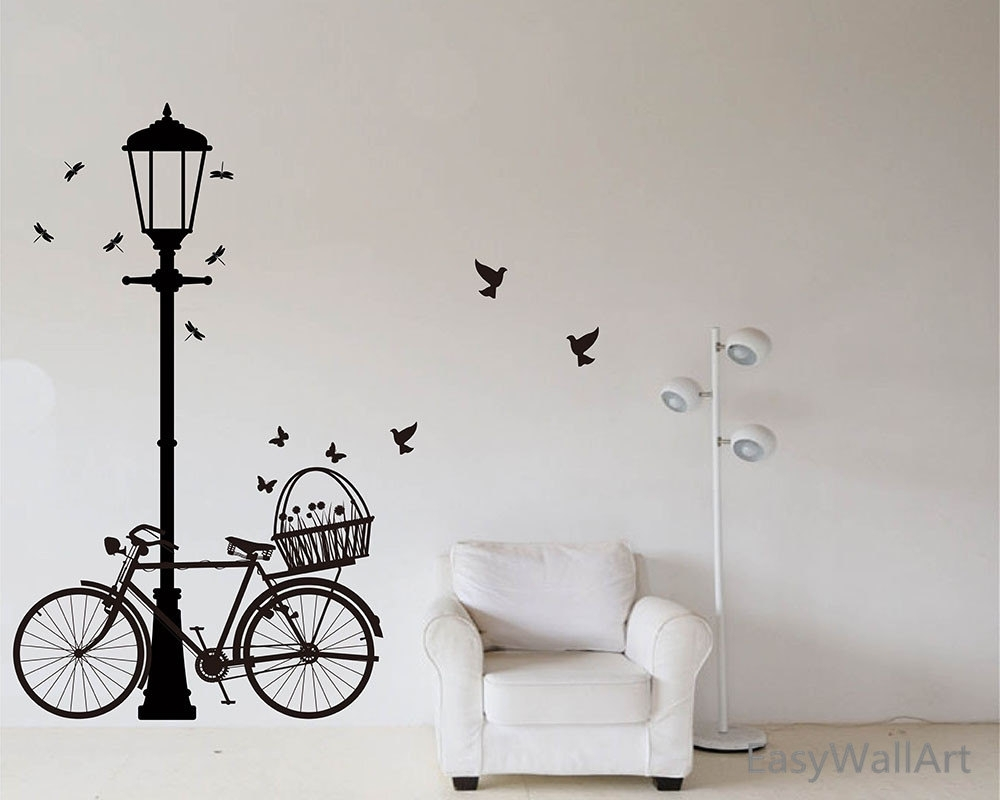 Bicycle Wall Art – Culturehoop Throughout Most Up To Date Bicycle Wall Art (View 5 of 20)