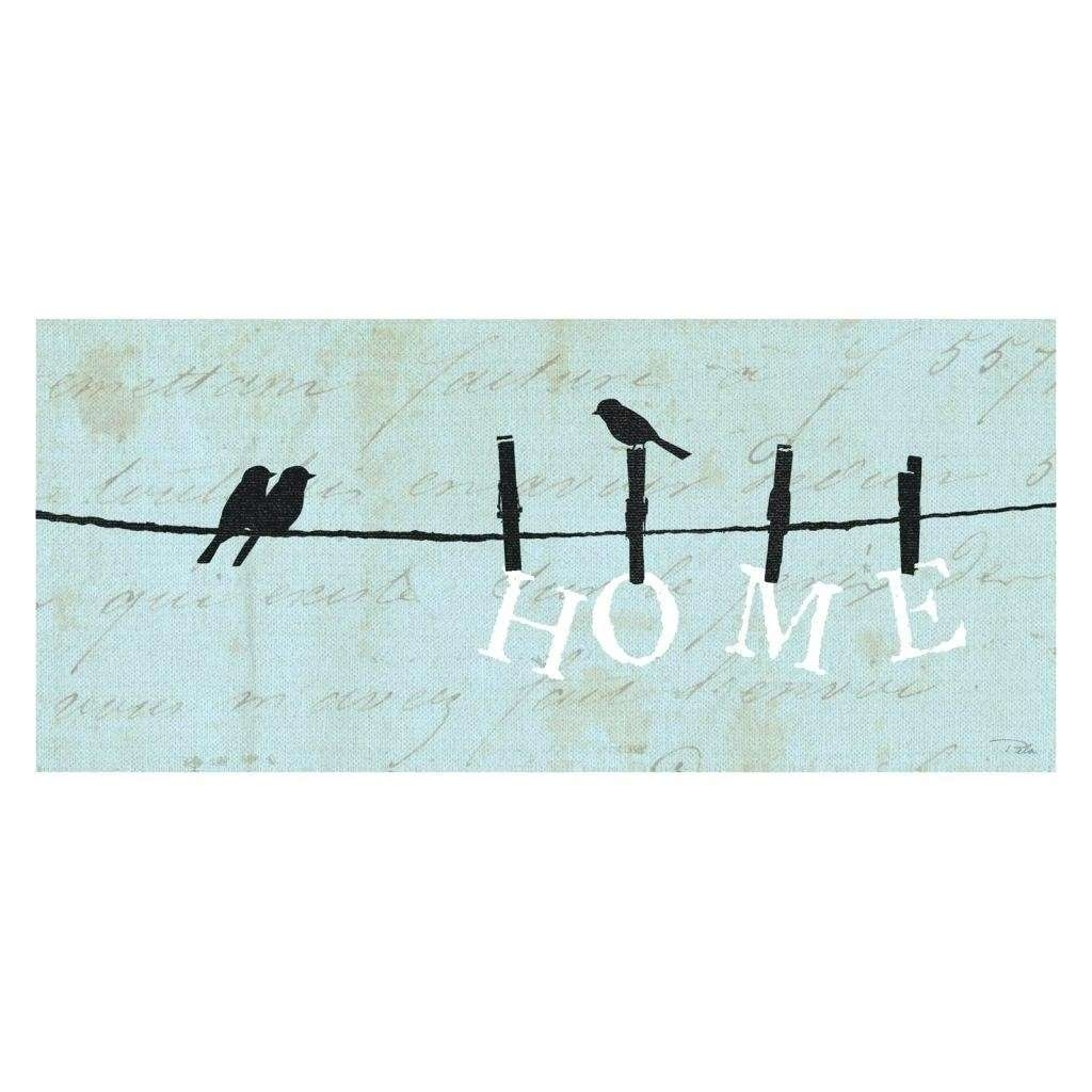 Birds On A Wire Wall Decor Beautiful Top Birds On A Wire Wall Art Of With 2018 Birds On A Wire Wall Art (View 8 of 20)