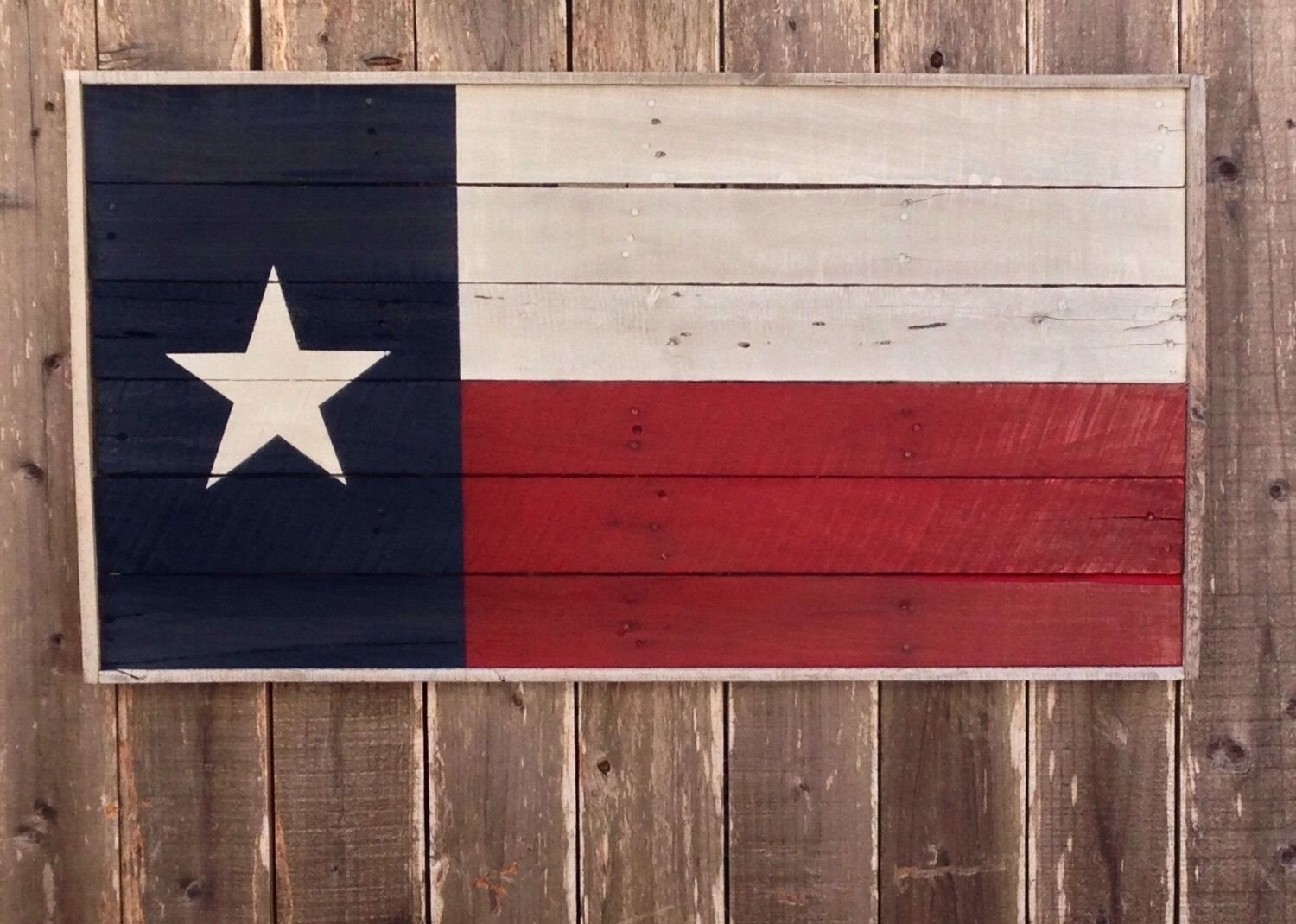 Bold Wood Texas State Flag, Texas Wall Hanging, Texas Wall Art, Bold Throughout Best And Newest Texas Wall Art (View 15 of 20)