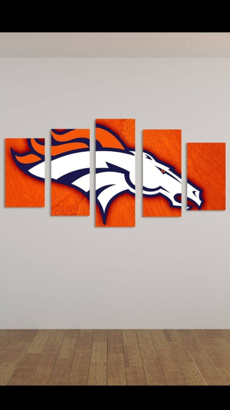Broncos Painting | Painting/crafts | Pinterest | Denver, Broncos With Regard To Most Recently Released Broncos Wall Art (View 9 of 20)