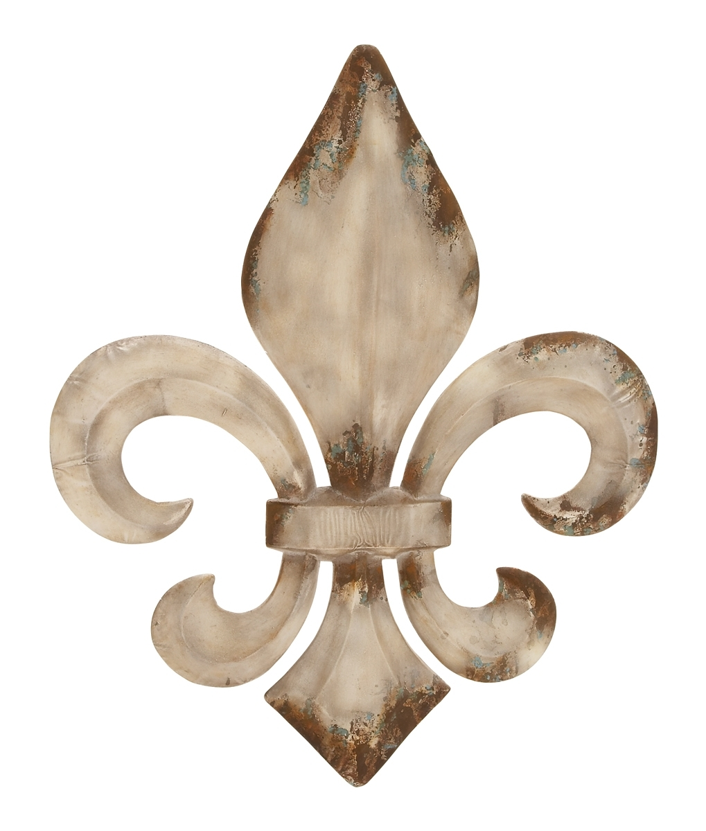 Bronzed Fleur De Lis Wall Decor Throughout Most Recently Released Fleur De Lis Wall Art (View 4 of 20)