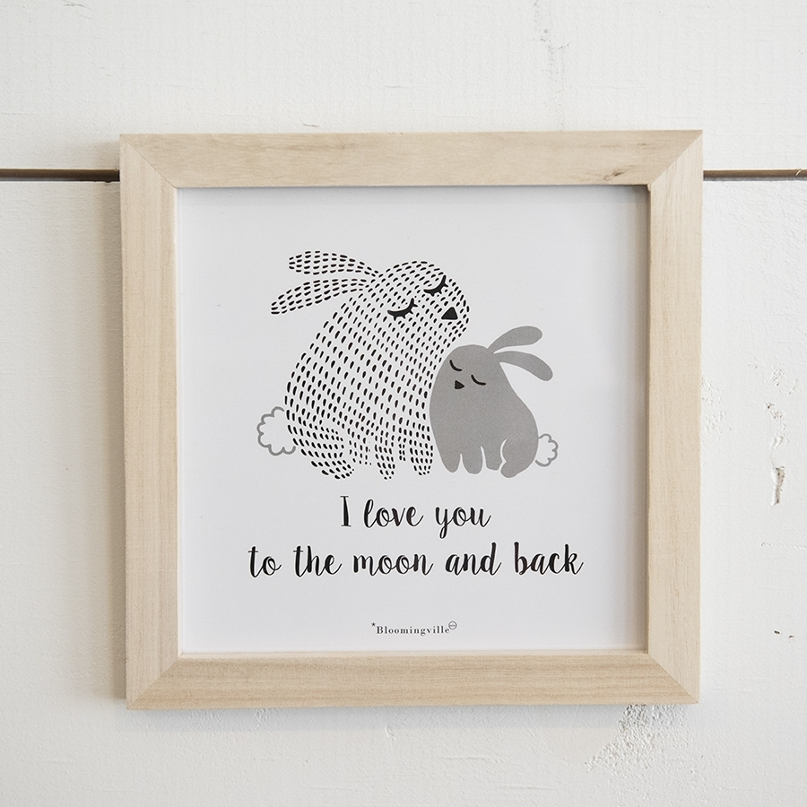 Bunny Wall Art – Yarrow Avenue Collection For Most Recently Released Bunny Wall Art (View 10 of 20)