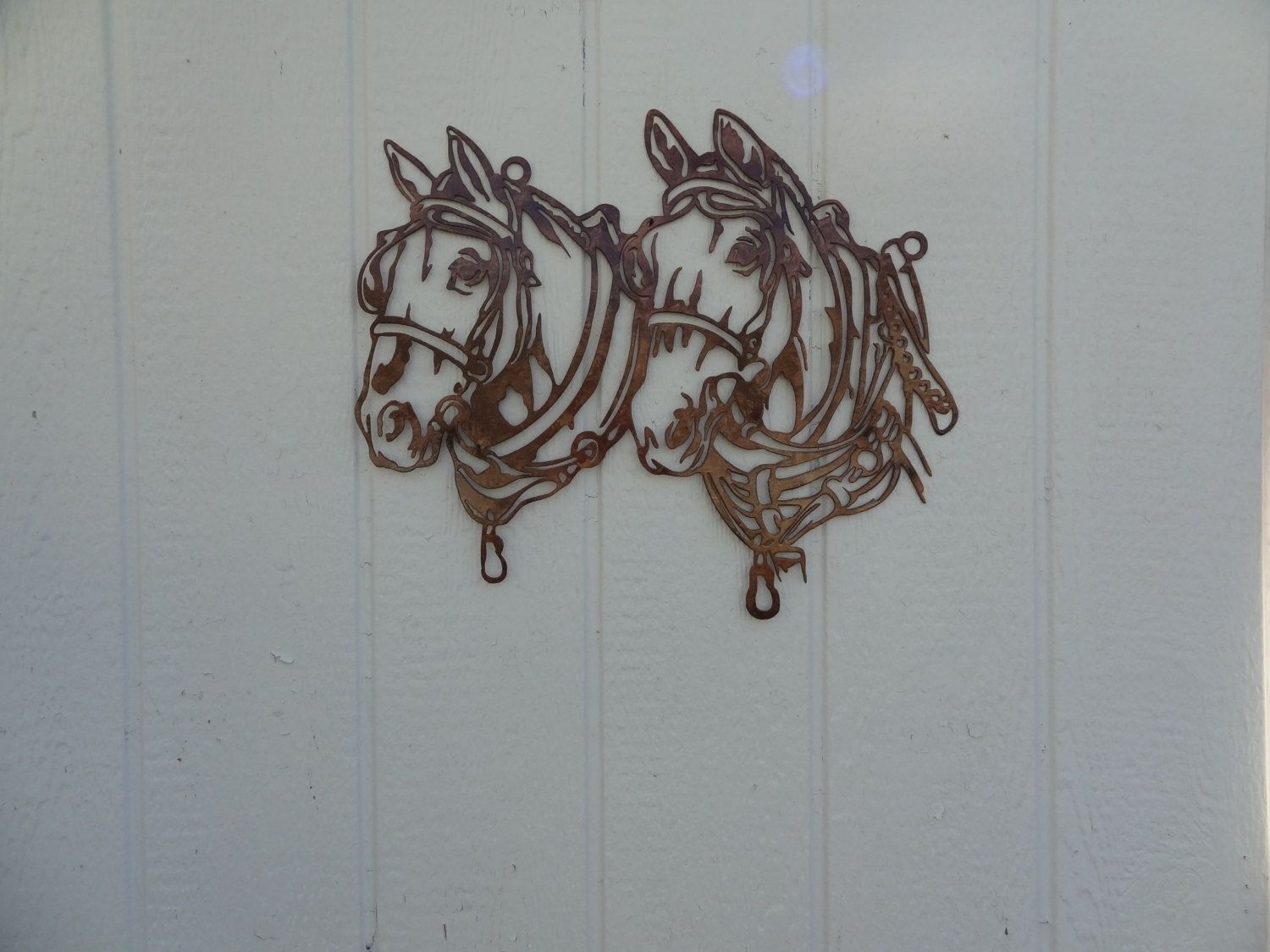 Buy A Hand Crafted Draft Horse Head Metal Wall Art Country Rustic With Regard To 2017 Country Wall Art (View 4 of 20)
