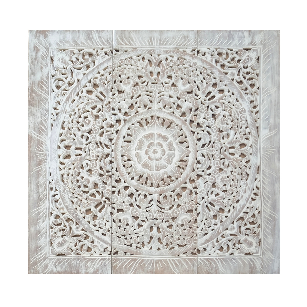 Buy Balinese Antique Wood Carving Wall Art Panel Online Throughout Most Up To Date Wall Art Panels (View 11 of 20)