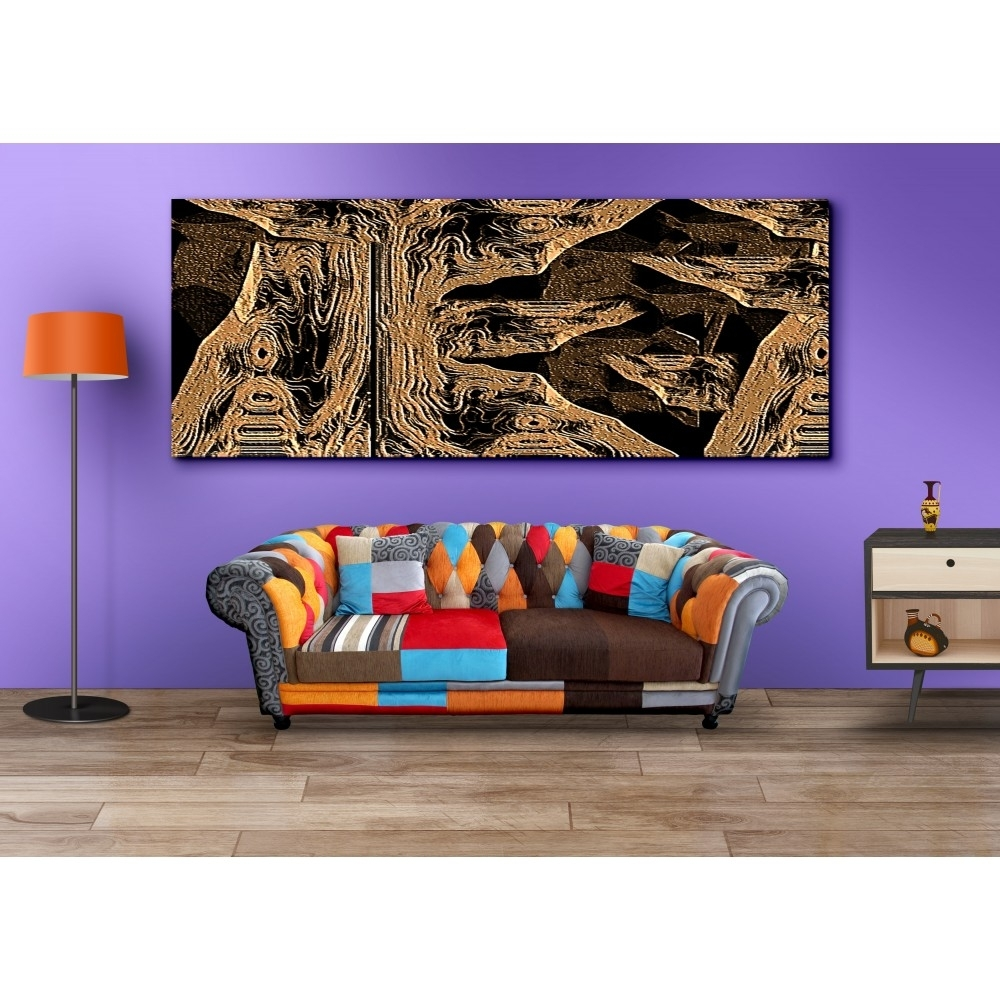 Buy Long Horizontal Canvas Painting Wall Art For Home Decor Regarding Current Horizontal Wall Art (View 6 of 20)