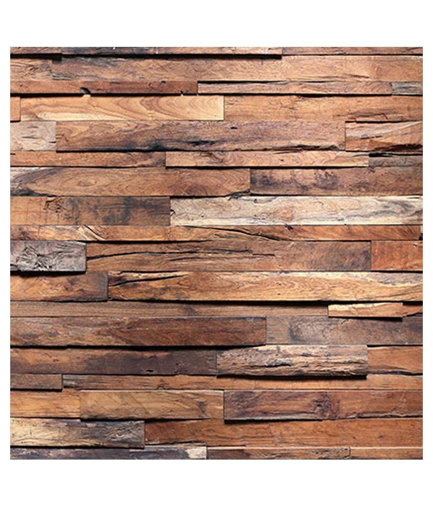Buy Wall Art Rough Wooden Planks Online At Low Price In India – Snapdeal Inside 2017 Plank Wall Art (View 13 of 20)