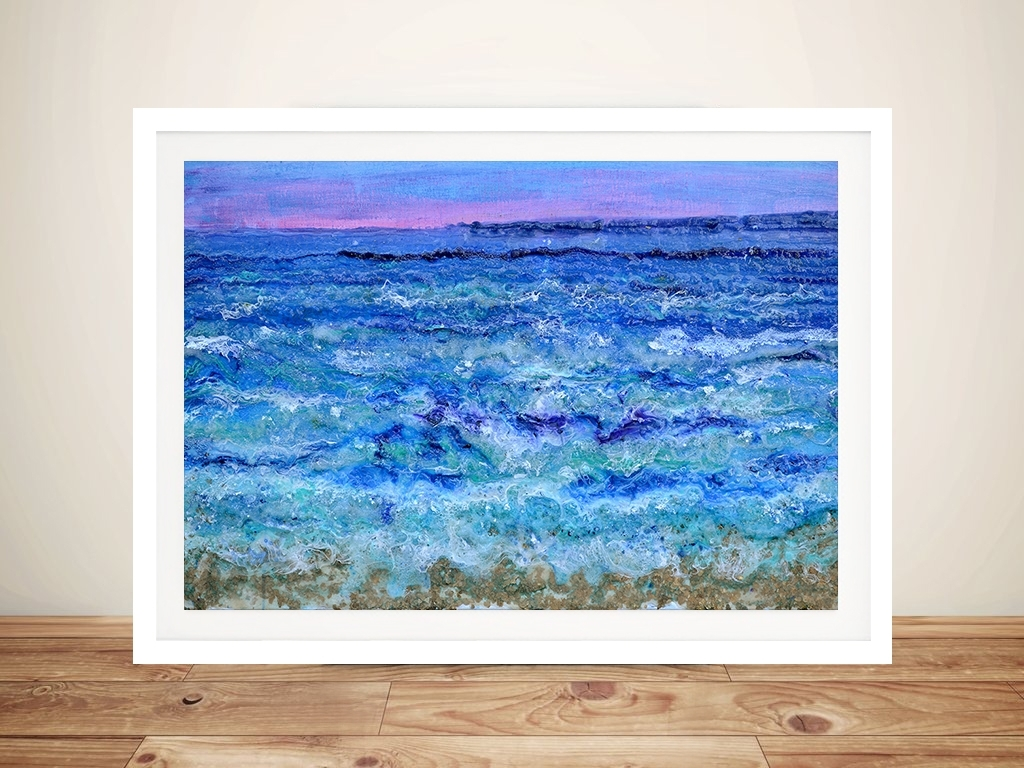 By The Beautiful Sea Abstract Ocean Wall Art Australia In 2018 Ocean Wall Art (View 9 of 20)