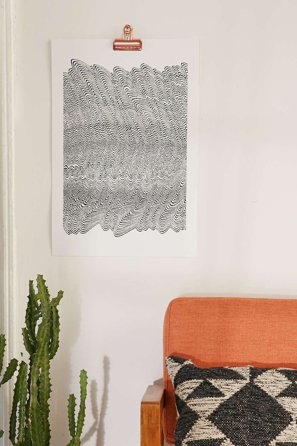 Caitlin Foster Scratch Mark Art Print | Spaces, Living Room Wall Art With Regard To Recent Urban Outfitters Wall Art (Gallery 16 of 20)