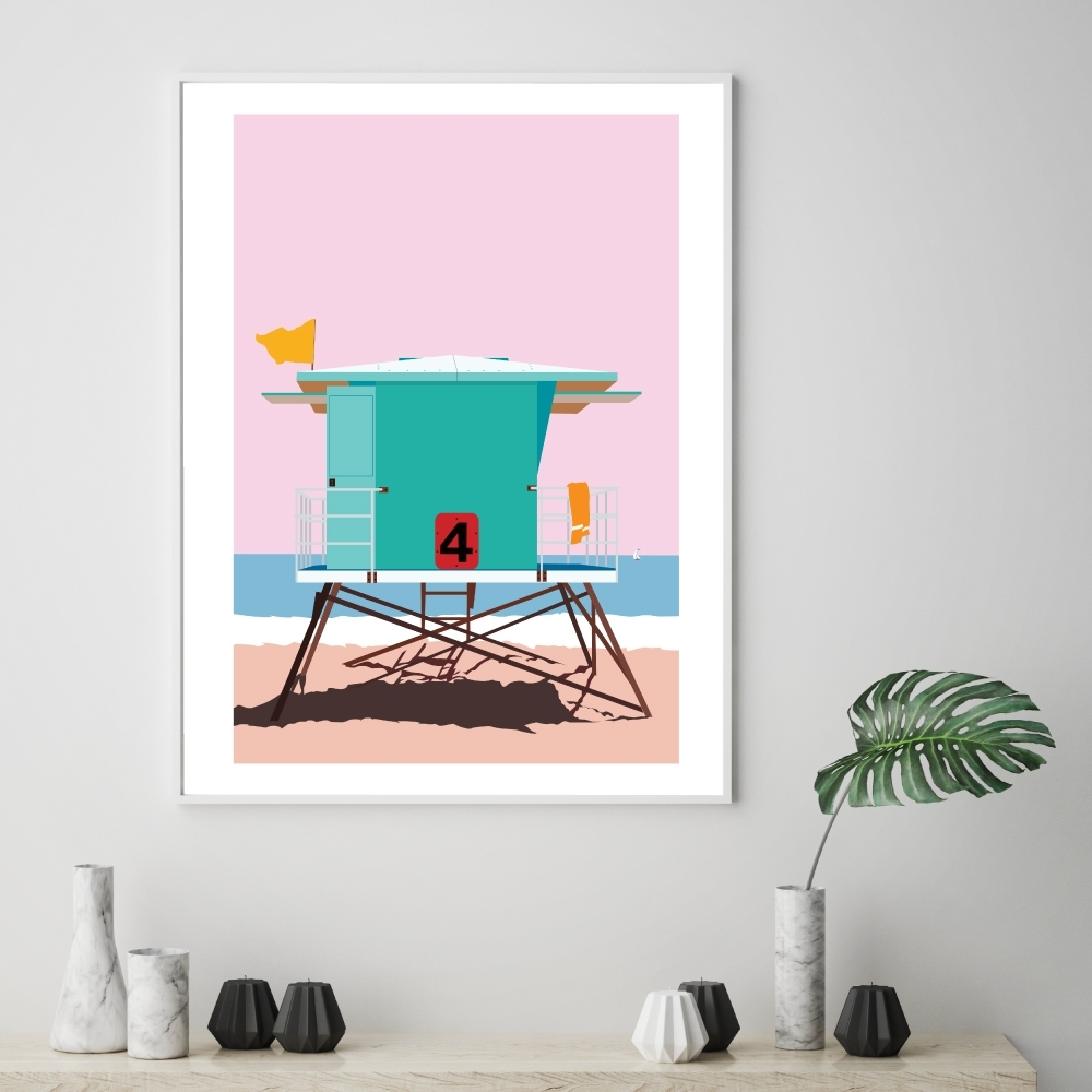 California Dreaming Printed Wall Art | Temple & Webster Intended For Current California Wall Art (Gallery 5 of 20)