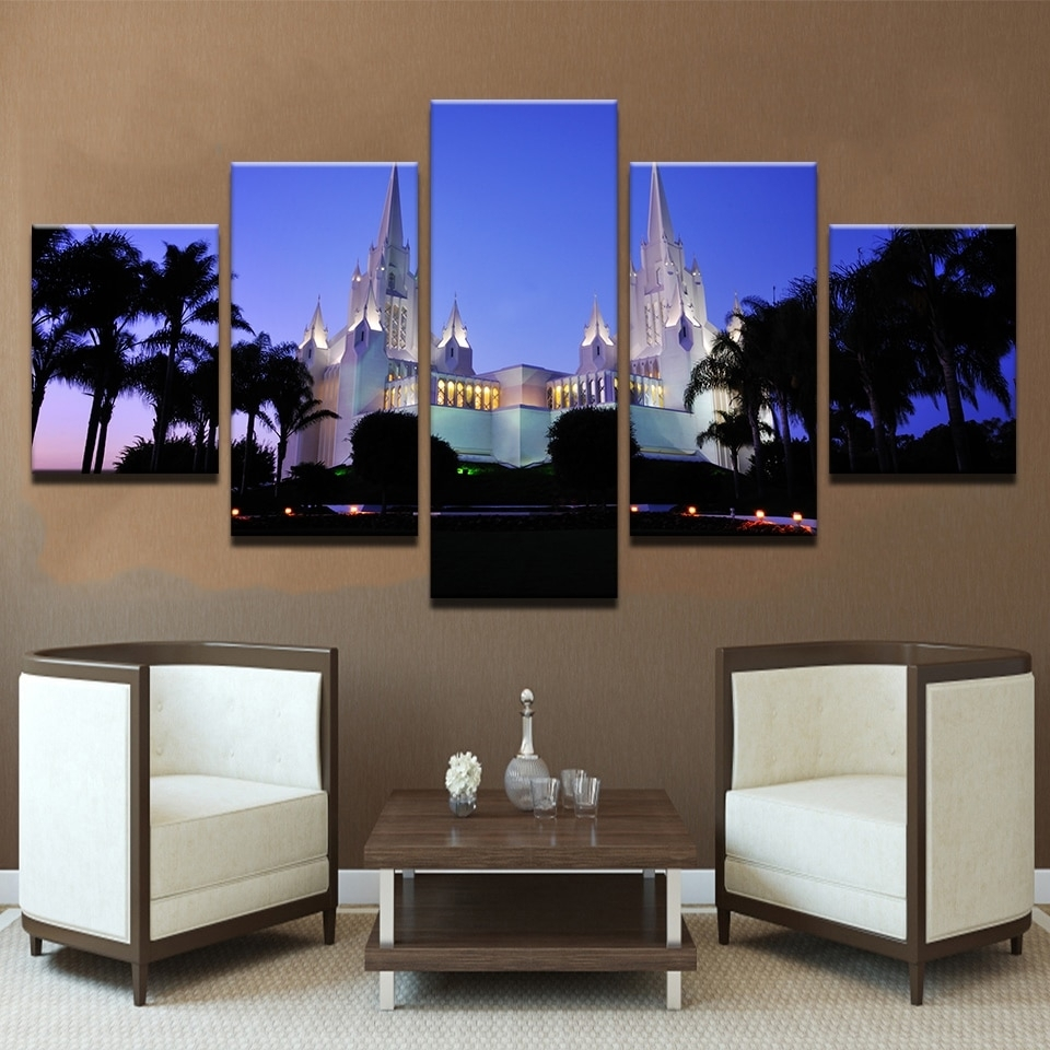 Canvas Paintings For Living Room Wall Art Framework 5 Pieces San With Regard To Latest California Wall Art (View 9 of 20)