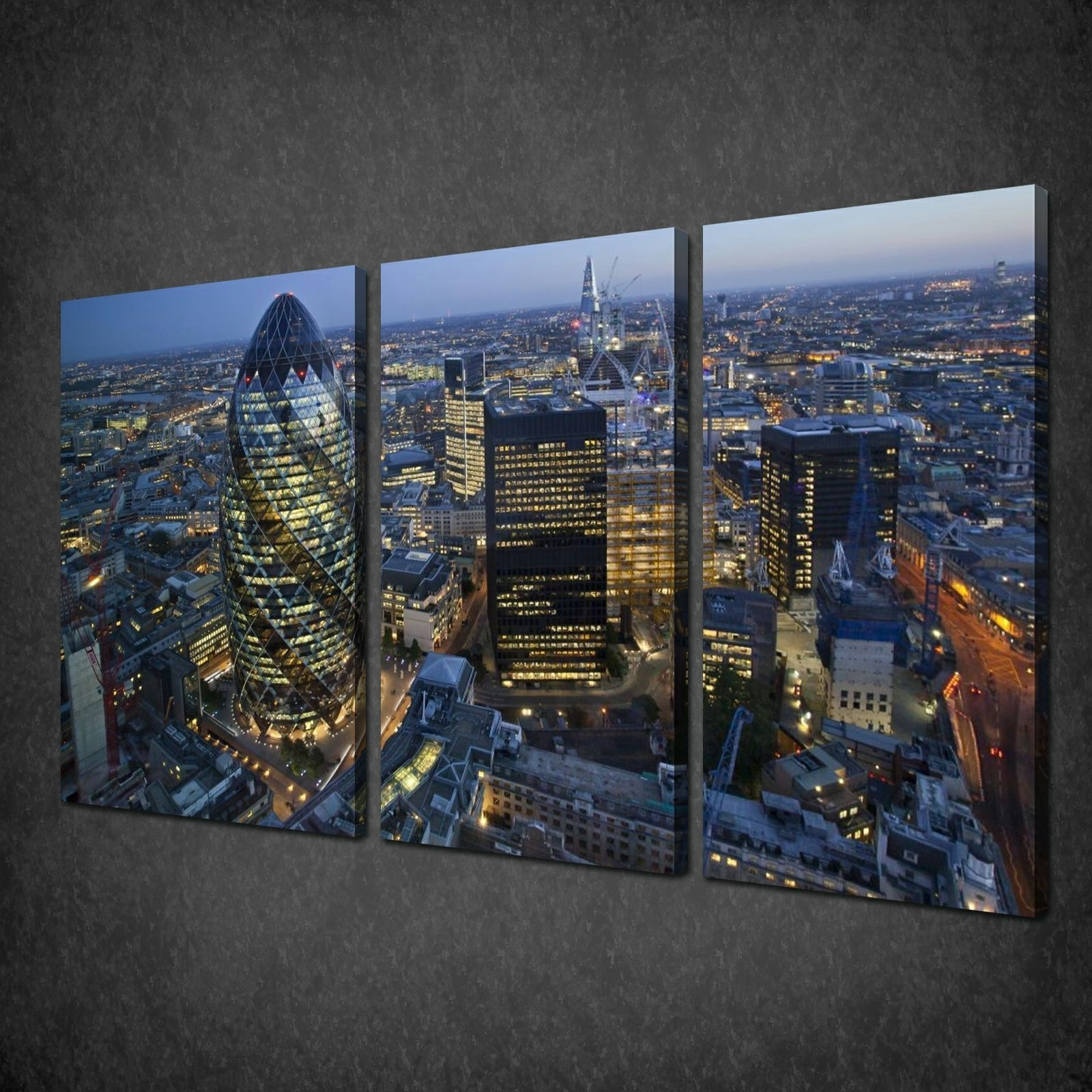 Canvas Print Pictures. High Quality, Handmade, Free Next Day Delivery. In Latest London Wall Art (Gallery 16 of 20)