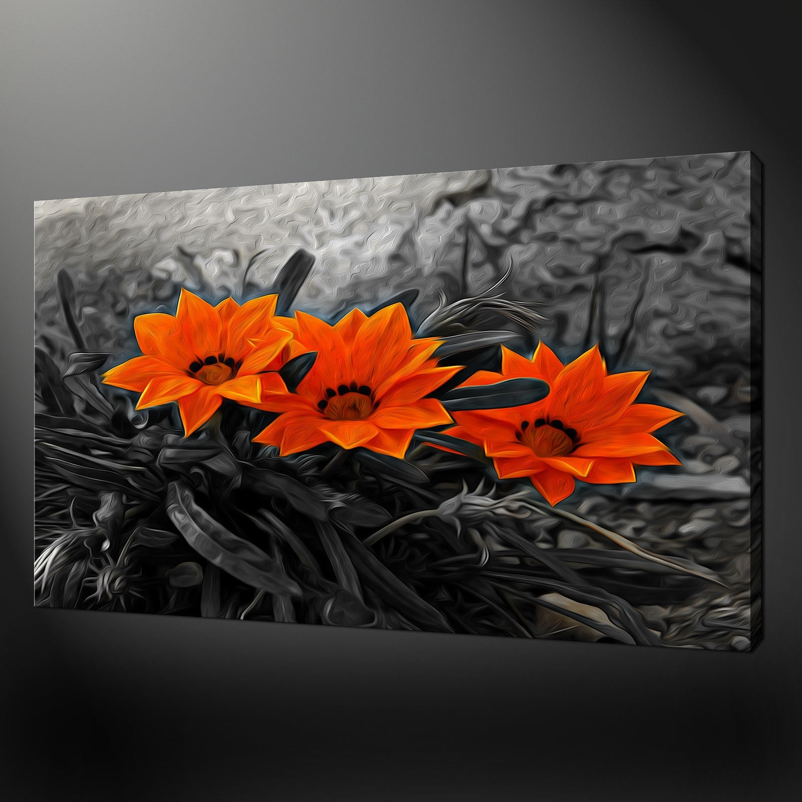 Canvas Print Pictures. High Quality, Handmade, Free Next Day Delivery. Throughout Latest Orange Wall Art (Gallery 6 of 20)