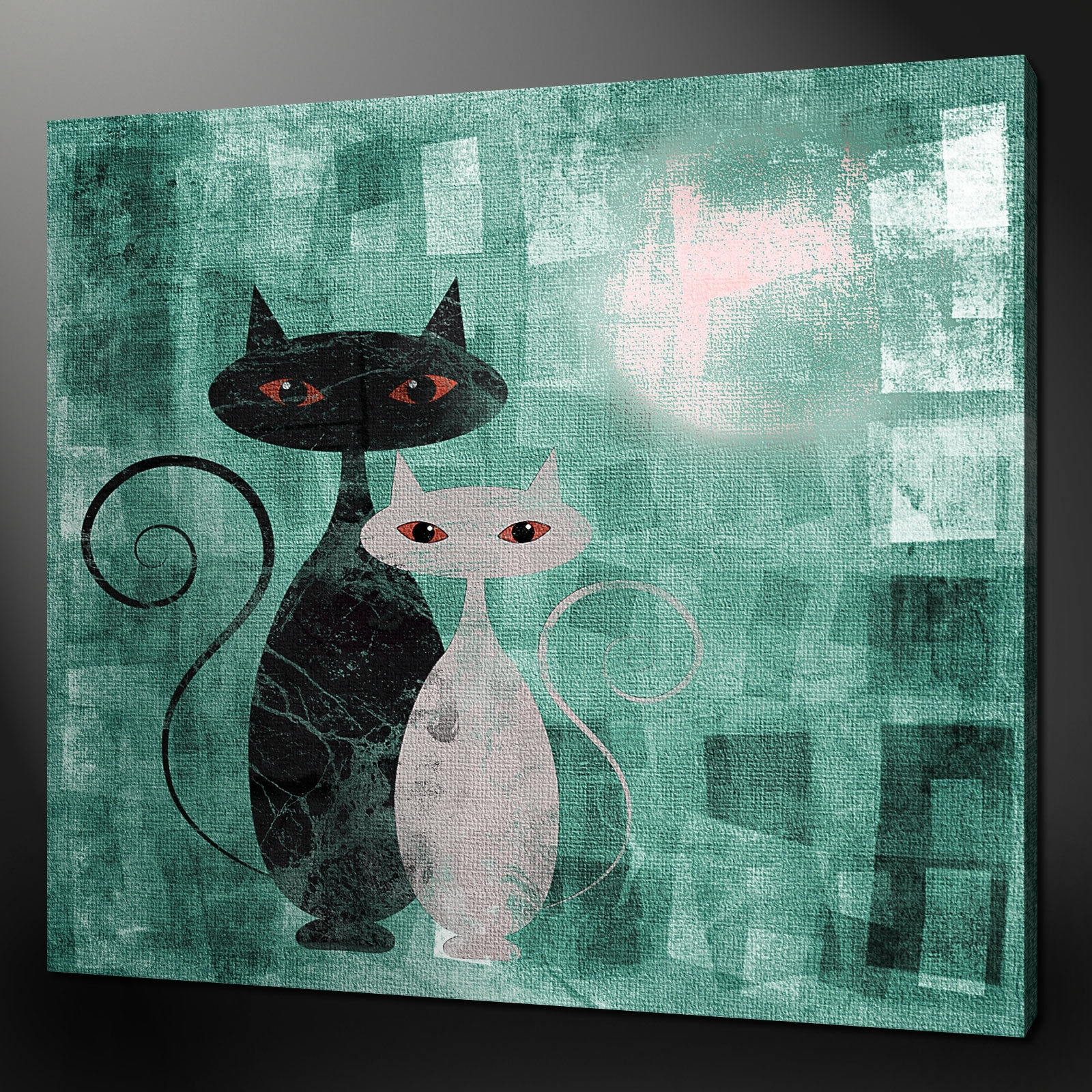 Canvas Print Pictures. High Quality, Handmade, Free Next Day Delivery. Throughout Most Current Cat Canvas Wall Art (Gallery 1 of 20)