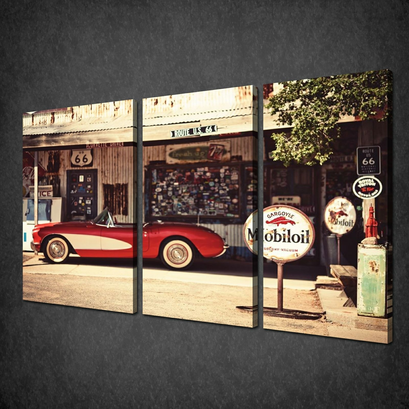 Canvas Print Pictures. High Quality, Handmade, Free Next Day Delivery. With Regard To Latest Car Canvas Wall Art (Gallery 3 of 20)