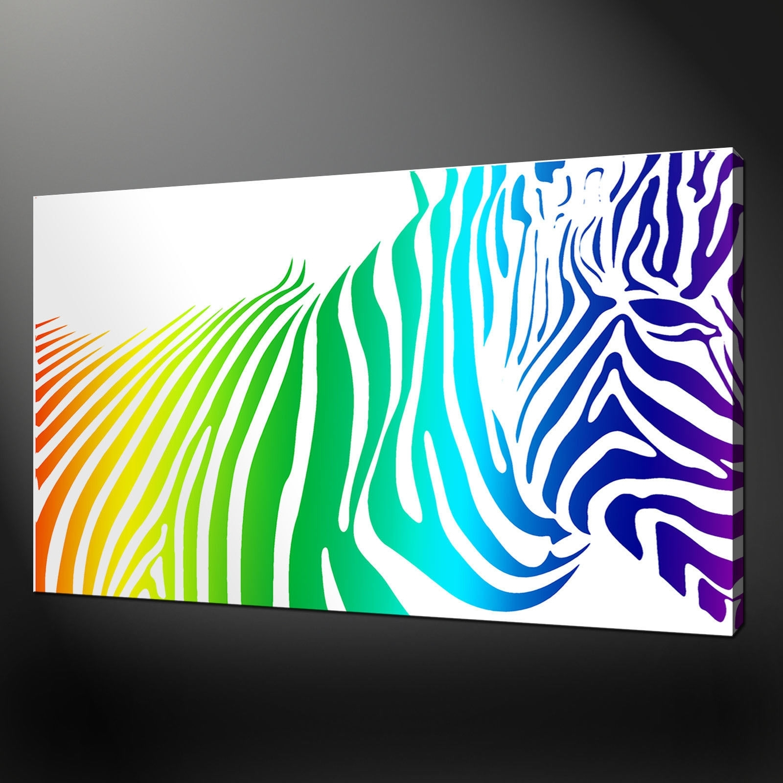Canvas Print Pictures. High Quality, Handmade, Free Next Day Delivery. With Regard To Most Up To Date Zebra Canvas Wall Art (Gallery 3 of 20)