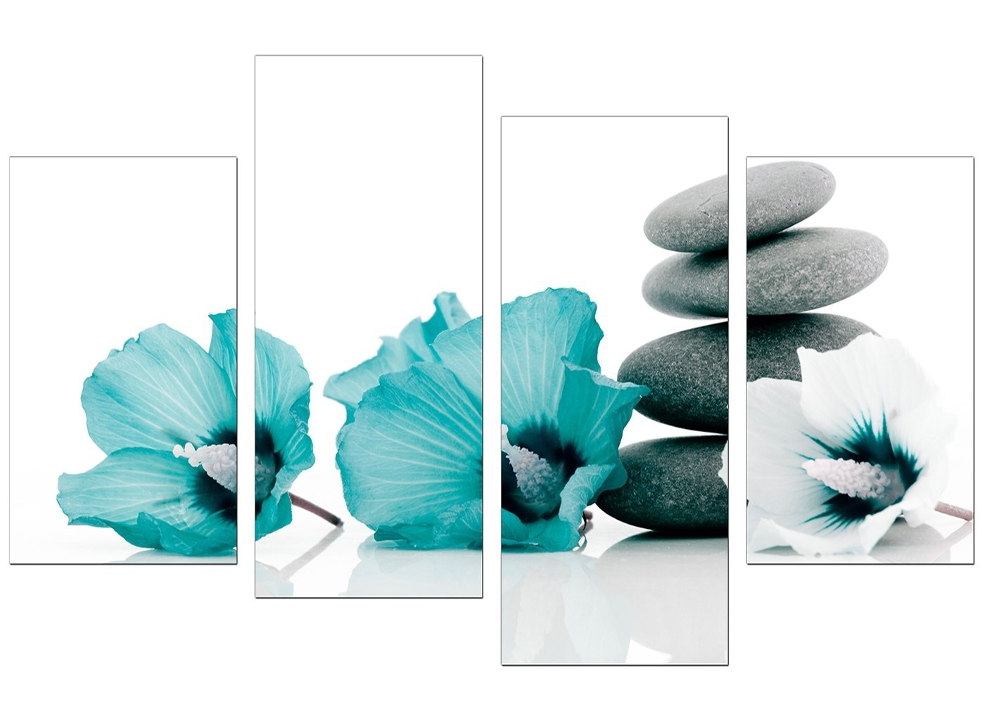 Canvas Wall Art Awesome Teal Wall Art – Wall Decoration Ideas Regarding Most Popular Teal Wall Art (View 3 of 15)