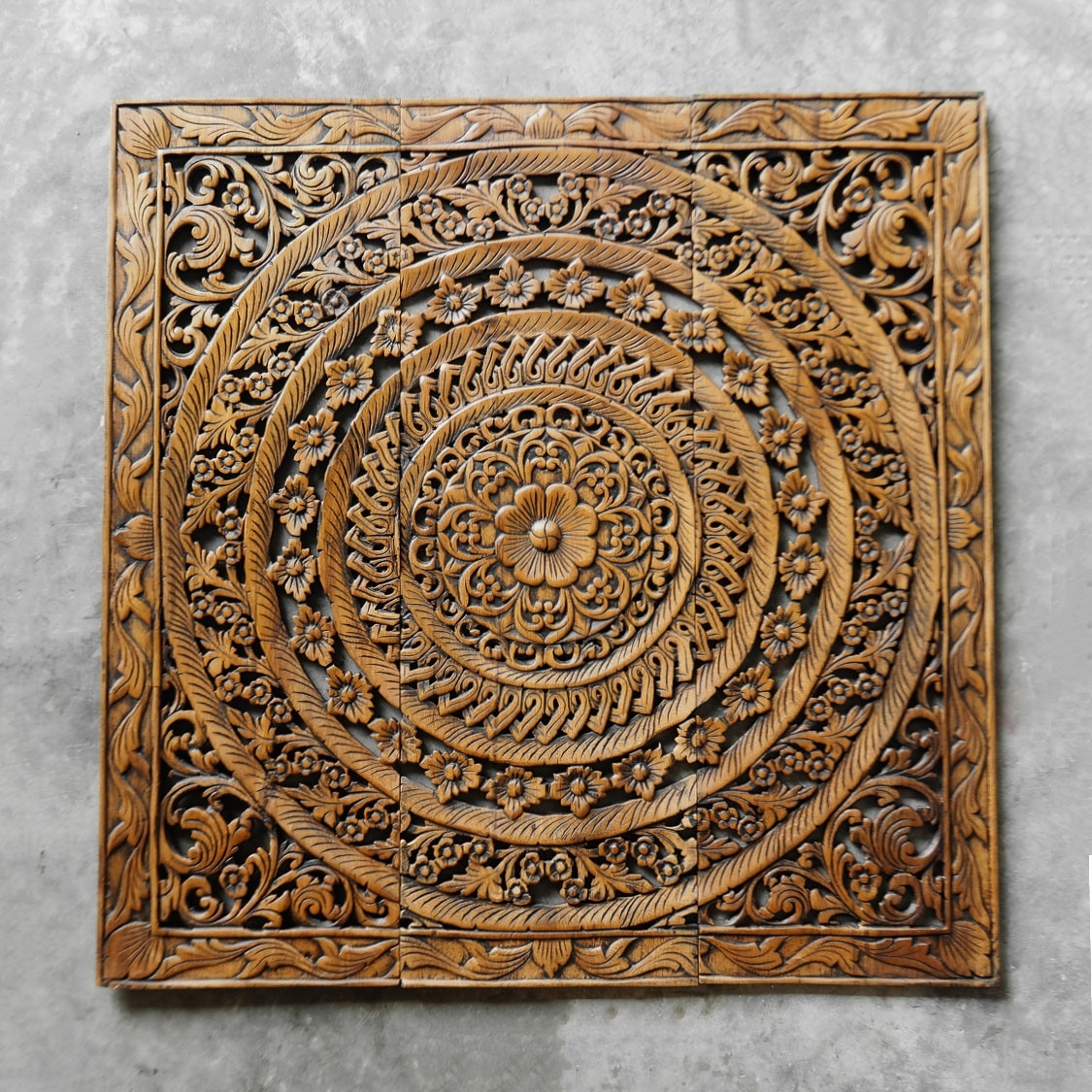 Carved Wall Decor Elegant Moroccan Decent Wood Carving Wall Art Pertaining To Most Current Wood Carved Wall Art (View 11 of 20)