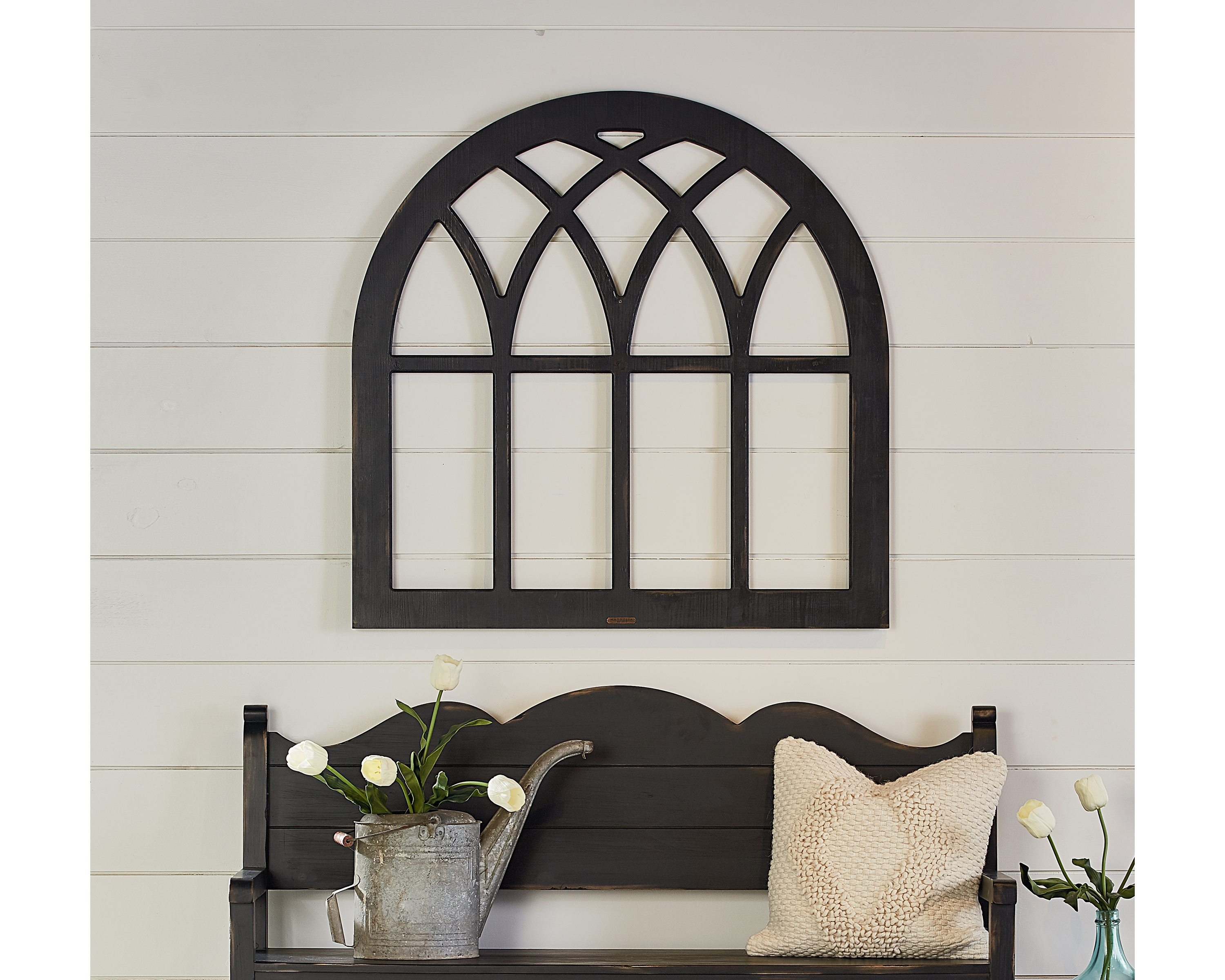 Cathedral Window Frame – Magnolia Home Regarding 2018 Window Frame Wall Art (Gallery 3 of 15)