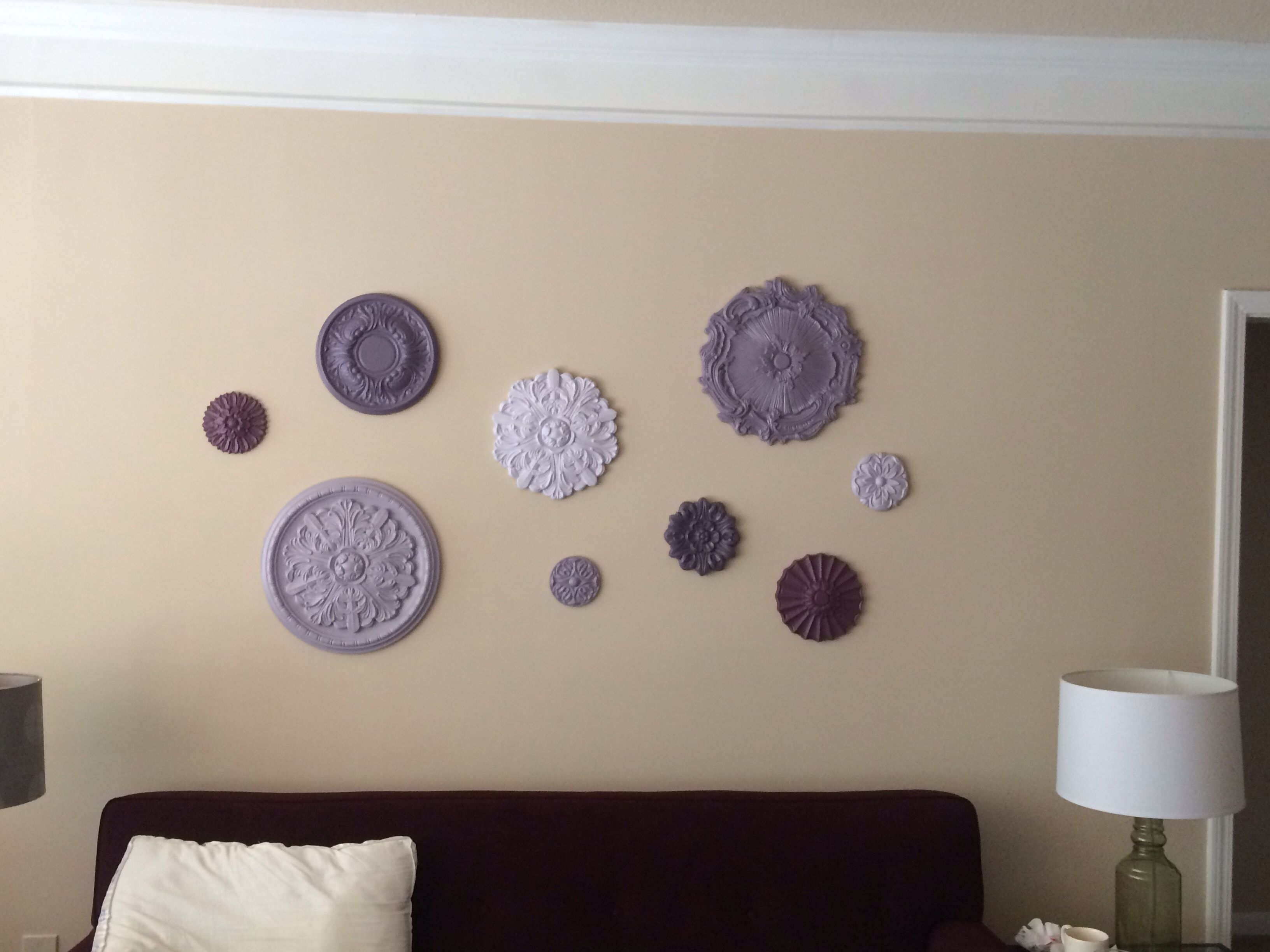 Ceiling Medallion Wall Art | Home And Decor | Pinterest | Ceiling Within Most Recent Ceiling Medallion Wall Art (Gallery 1 of 15)