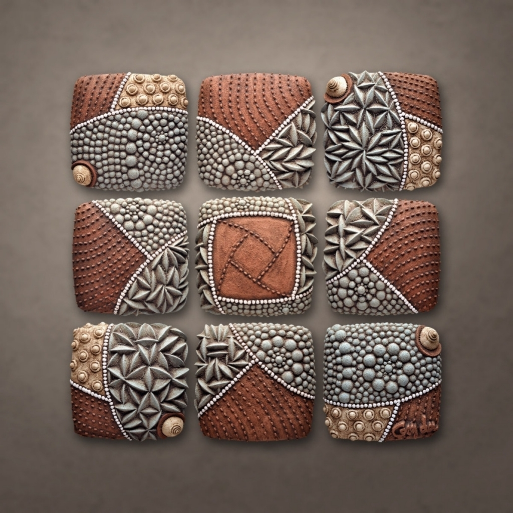 Ceramic Wall Art – Prix Dalle Beton Inside Most Recently Released Ceramic Wall Art (View 4 of 20)