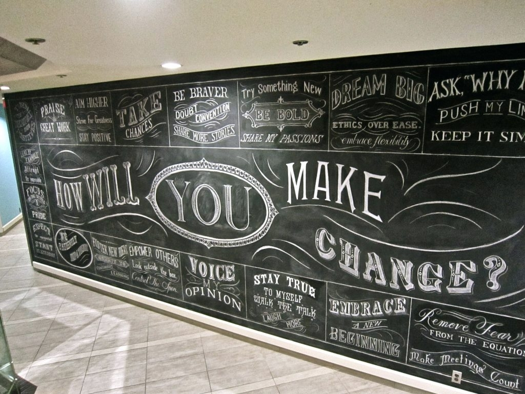 Chalkboard Wall Art – Culturehoop With Regard To 2017 Chalkboard Wall Art (View 6 of 20)