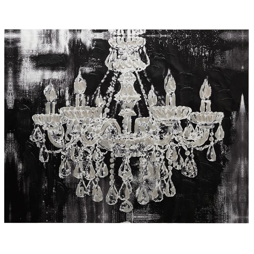 Chandelier Canvas Art: Home Wall Decor Canvas Art Collections Canvas With Newest Chandelier Wall Art (View 3 of 20)