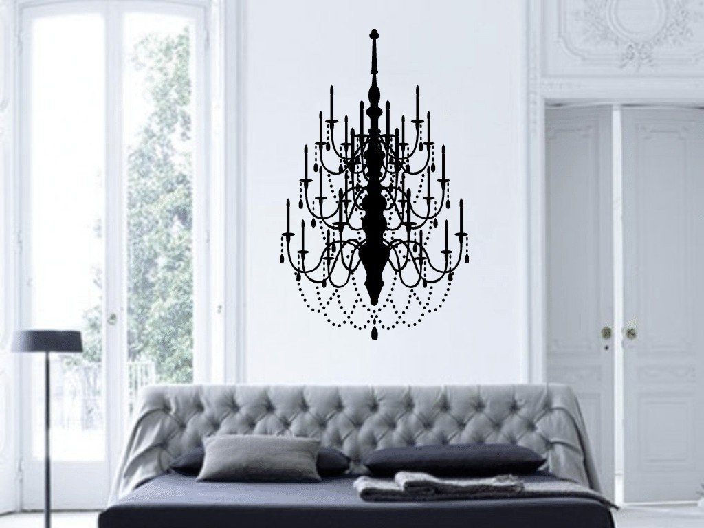 Chandelier Wall Art – Culturehoop Throughout Latest Chandelier Wall Art (View 7 of 20)