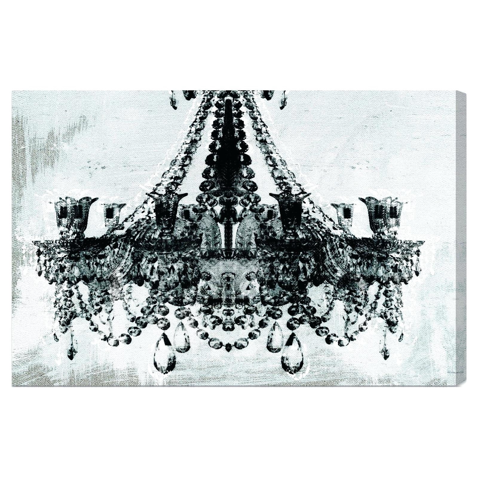 Chandelier Wall Art Print Led Canvas Sticker – Limousinesaustintx Inside Recent Chandelier Wall Art (View 9 of 20)