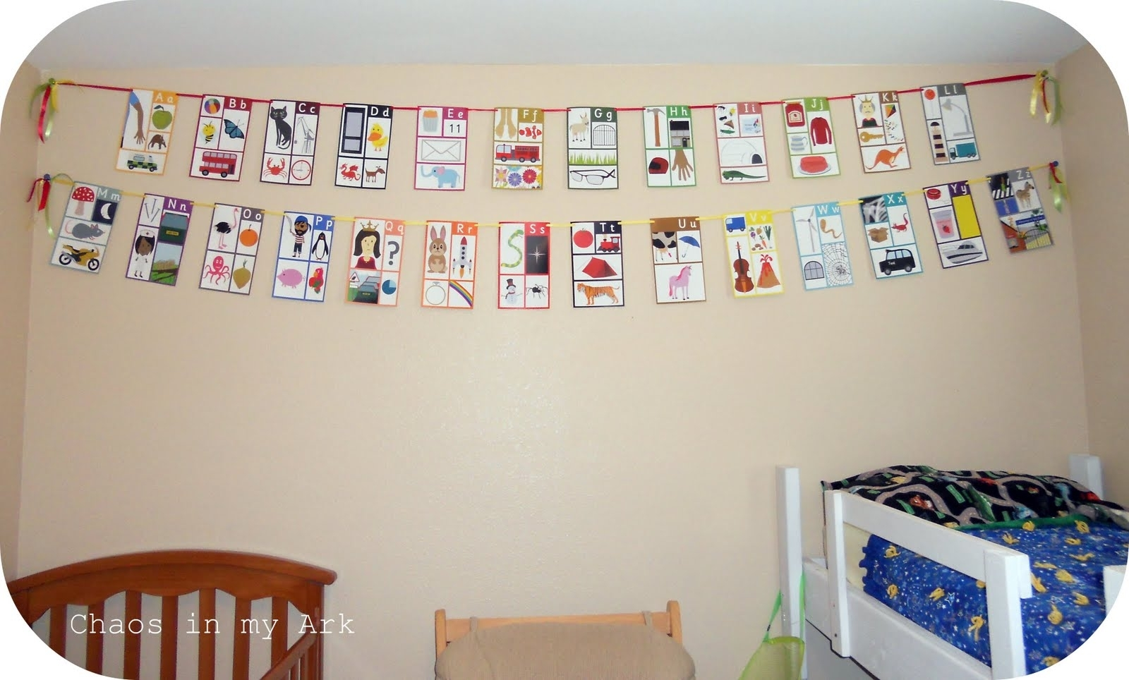 Chaos In My Ark: Home Redo: Alphabet Wall Art In Newest Alphabet Wall Art (View 15 of 20)