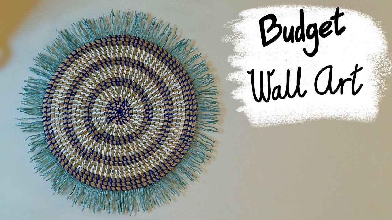 Cheap Anthropologie Inspired Diy Wall Art – Youtube Within Current Anthropologie Wall Art (Gallery 19 of 20)