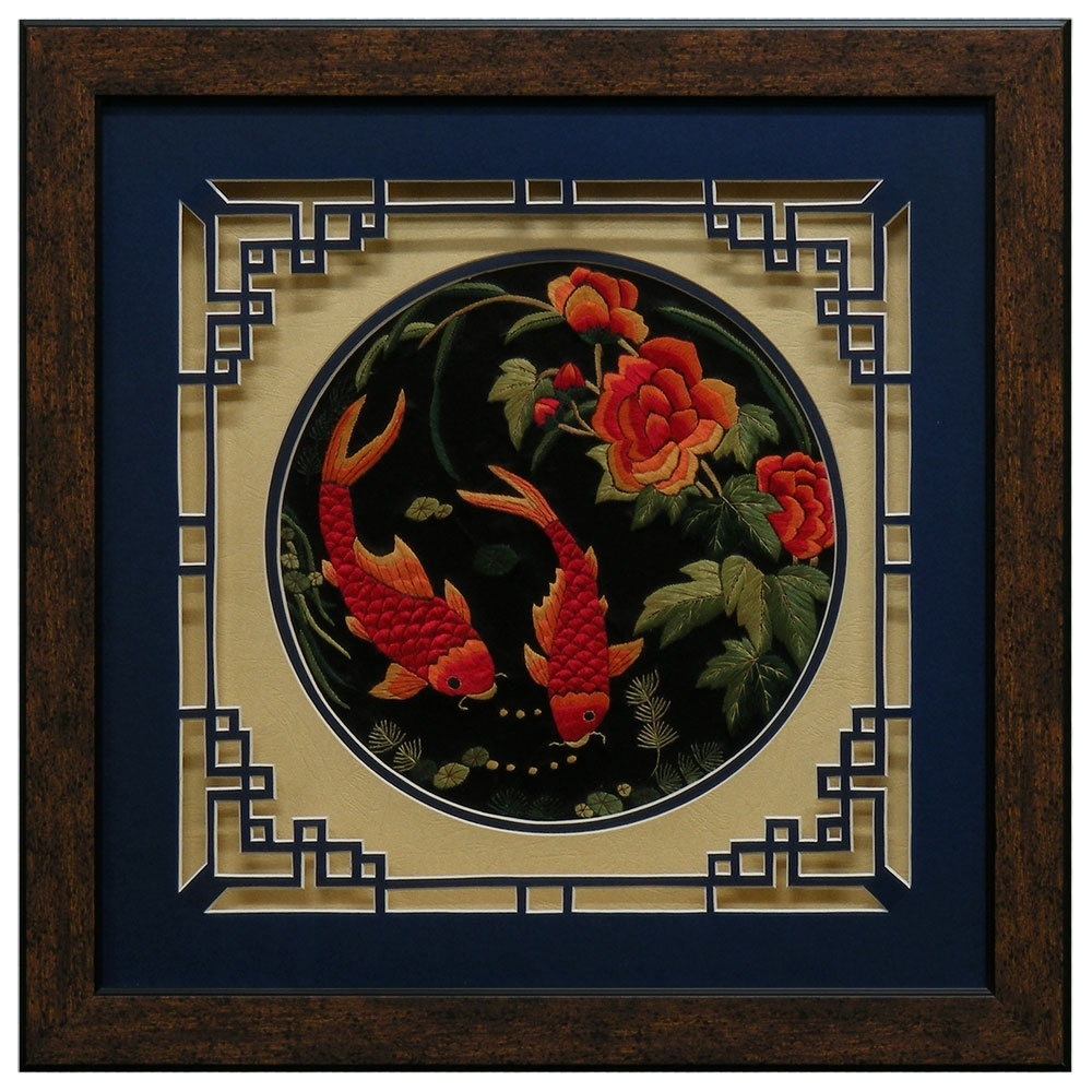 Chinese Wall Art – Elitflat Regarding Most Current Chinese Wall Art (View 17 of 20)