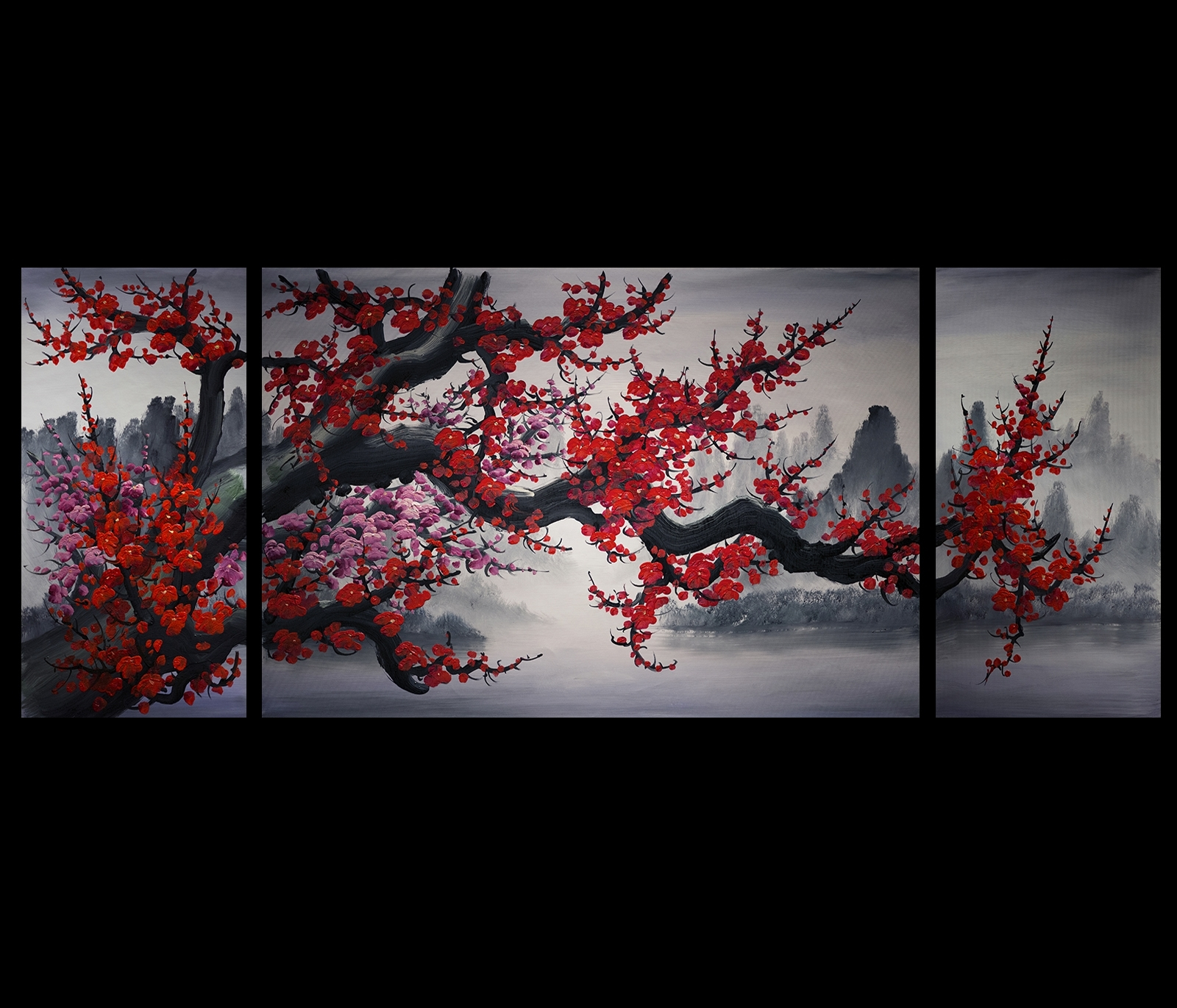 Chinese Wall Art Painting Download Chinese Wall Art | V Sanctuary With Most Popular Chinese Wall Art (View 16 of 20)