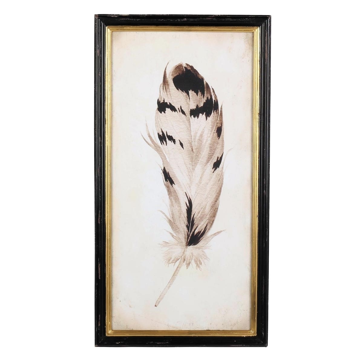 Chippewa Feather Wall Art, Metal Wall Art | Plum & Post With Regard To 2018 Feather Wall Art (View 8 of 20)