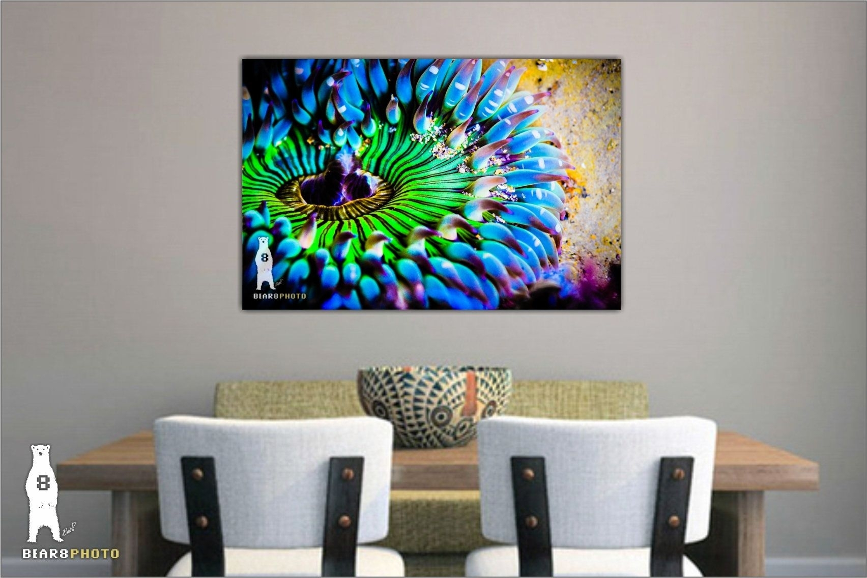 Colorful Wall Art, Bright Wall Art, Sea Life Prints, Bold And Pertaining To Most Popular Colorful Wall Art (View 16 of 20)